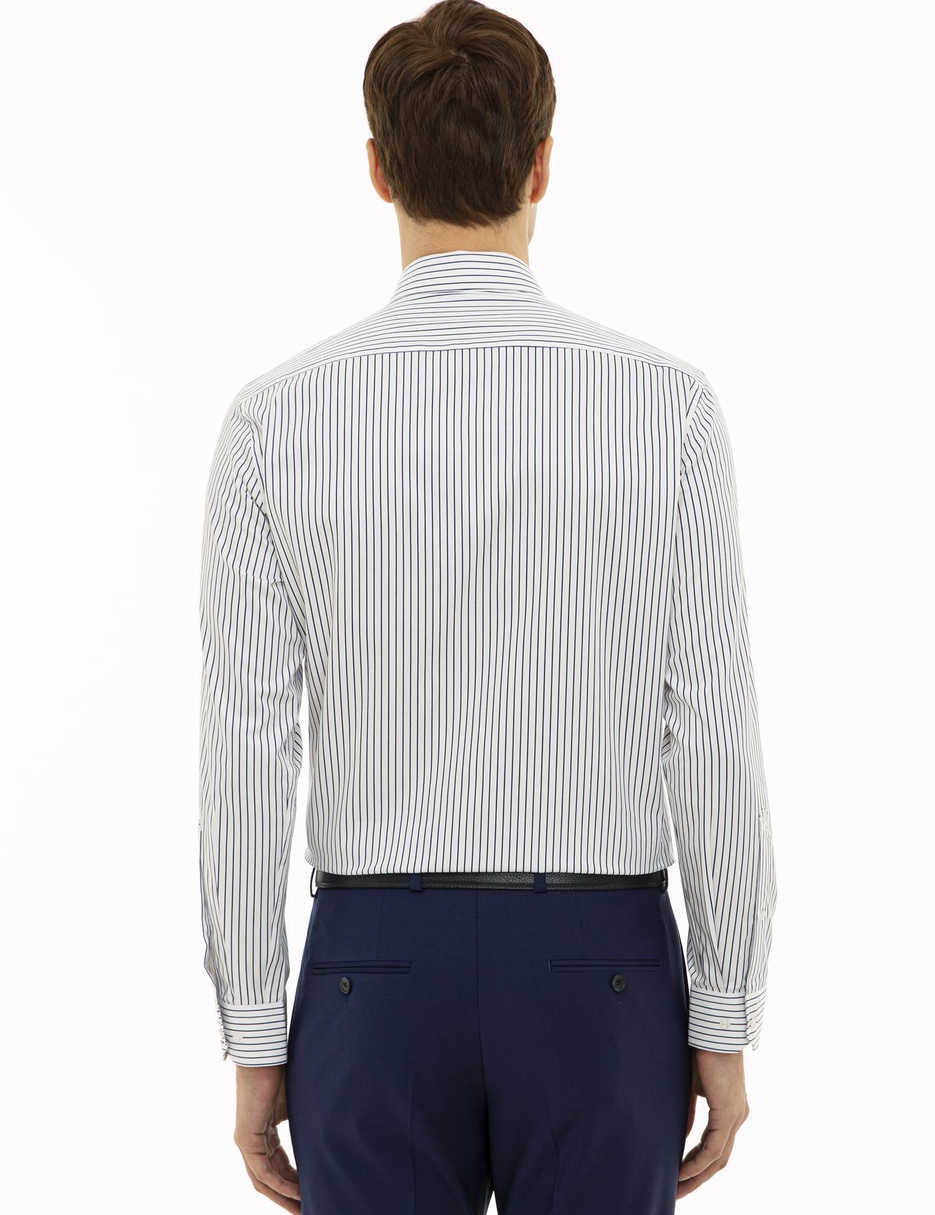 Beyaz Slim Fit Gömlek - 50229808024