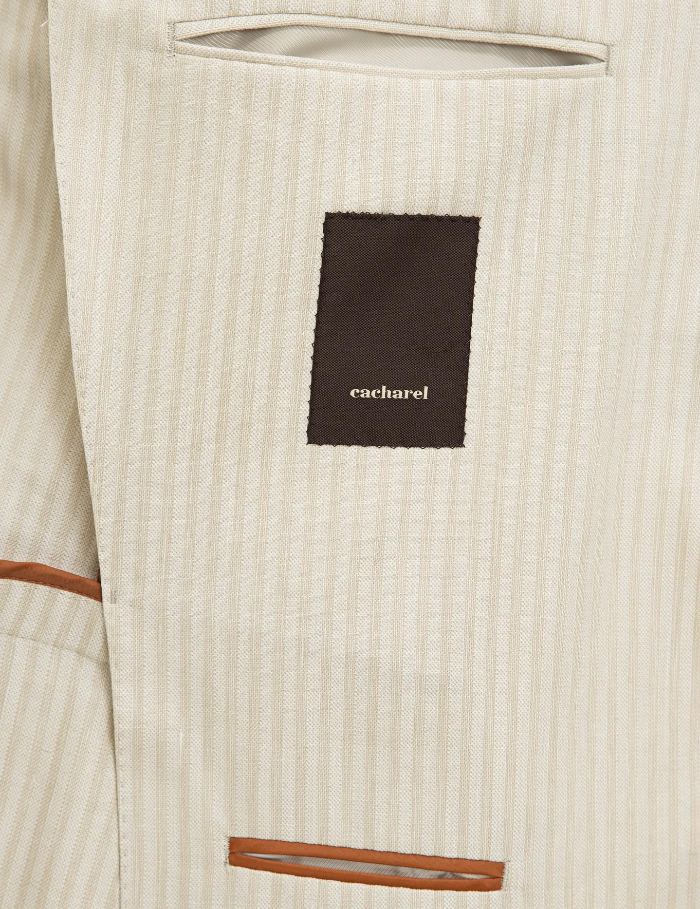 Ekru Slim Fit Ceket - 50219572005