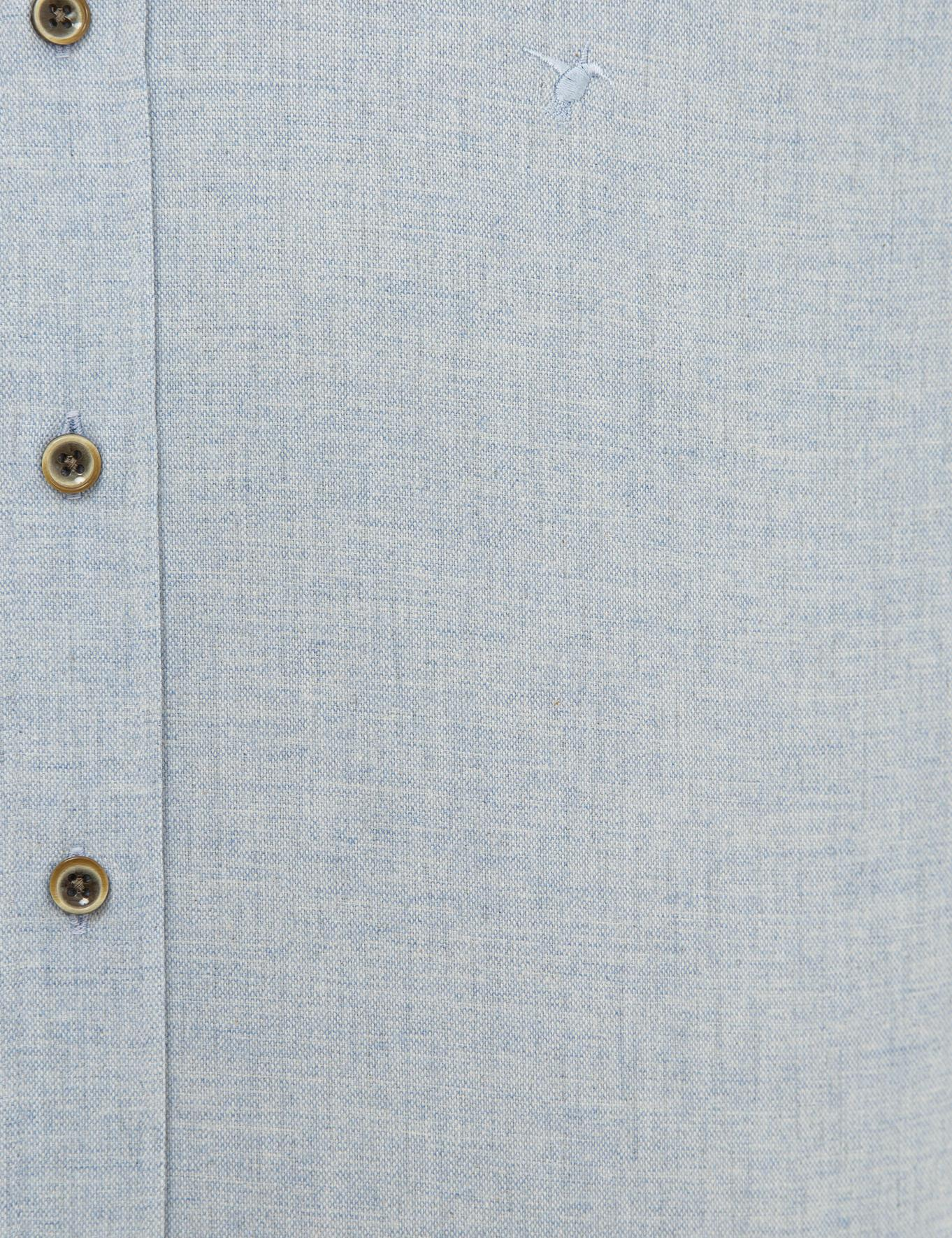 Açık Mavi Slim Fit Gömlek - 50227042081