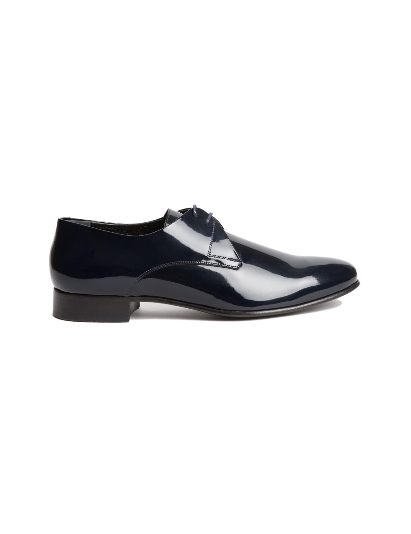 Lacivert Rugan Ayakkabı - 30028269008