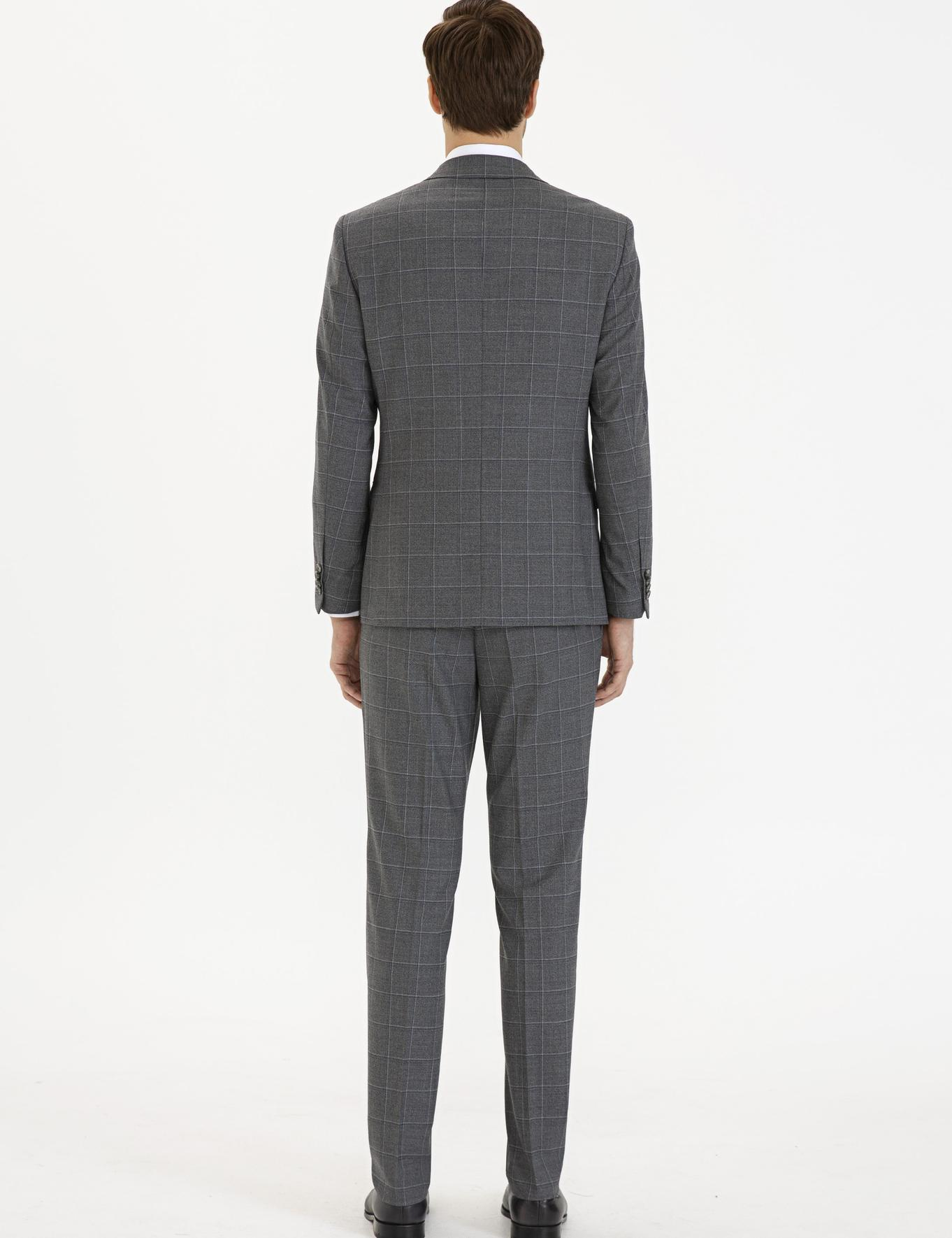Antrasit Slim Fit Takım Elbise - 50206943023