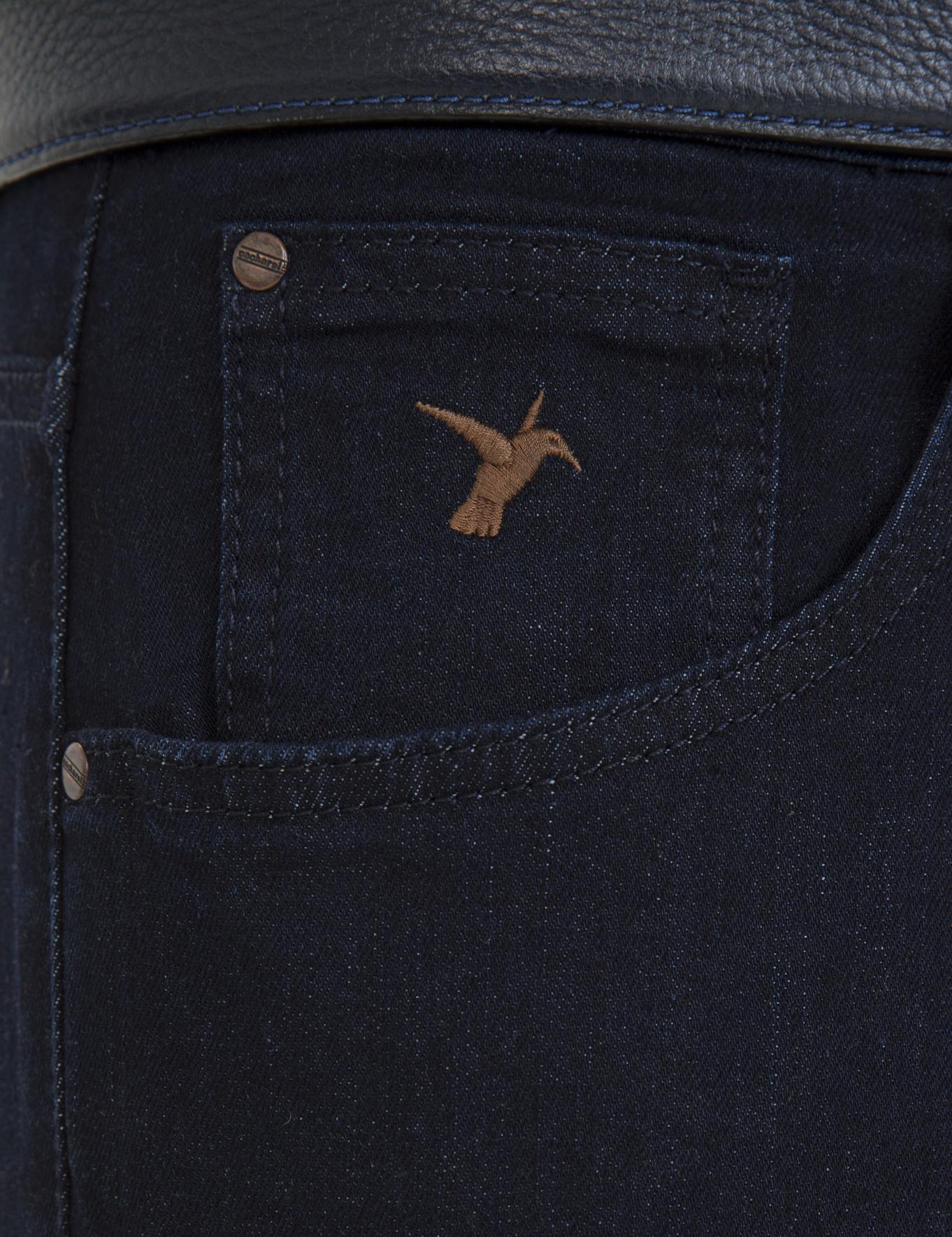 Koyu Mavi Slim Fit Denim - 50233811017
