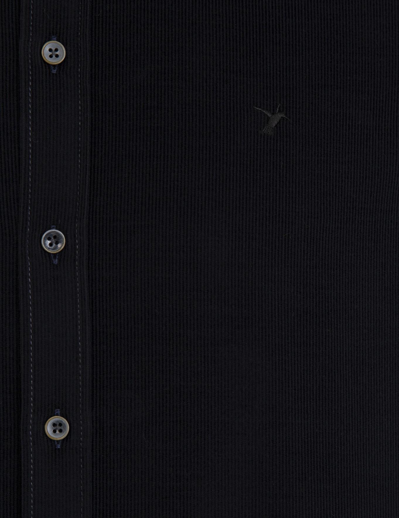 Siyah Slim Fit Gömlek - 50227351085