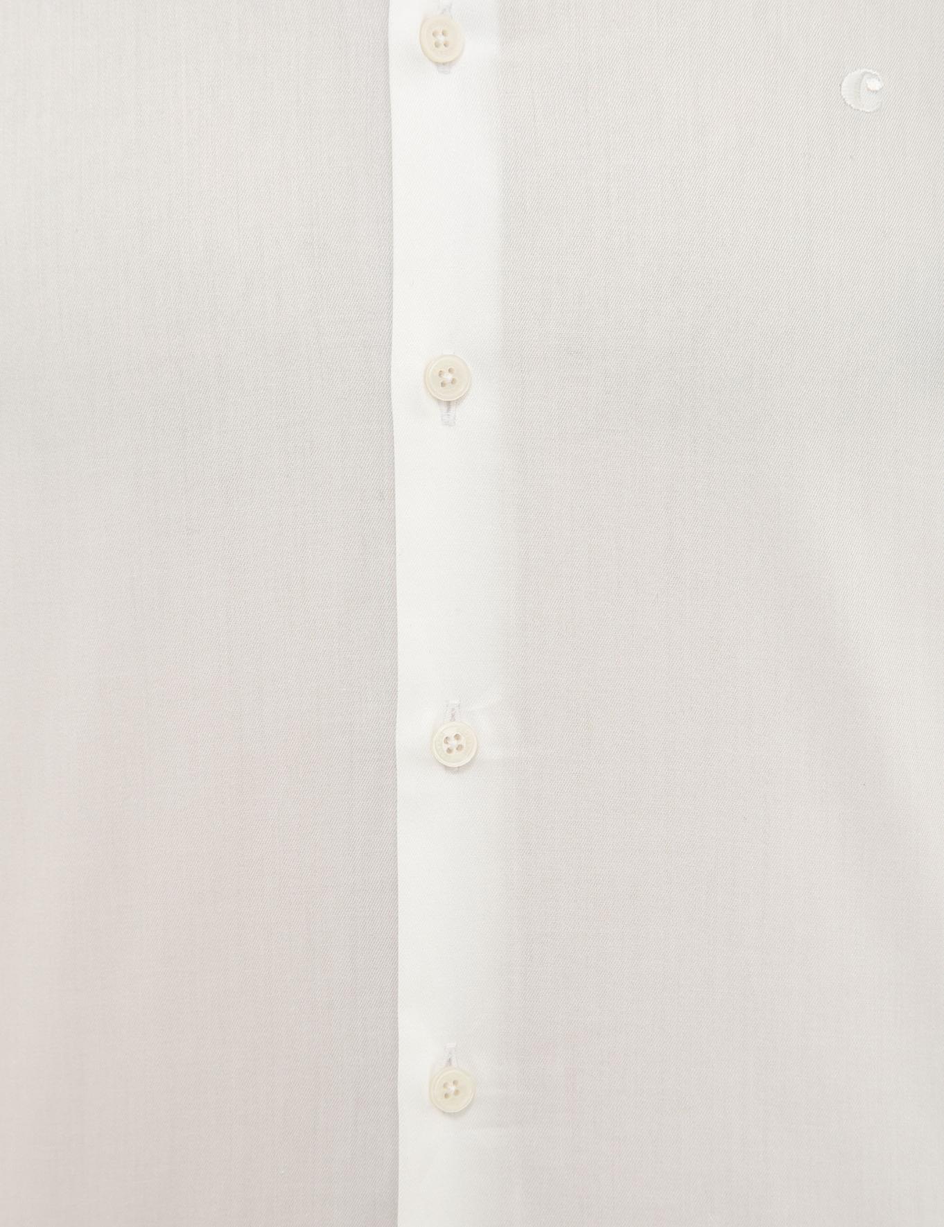 Beyaz Slim Fit Basic Gömlek - 50231175006