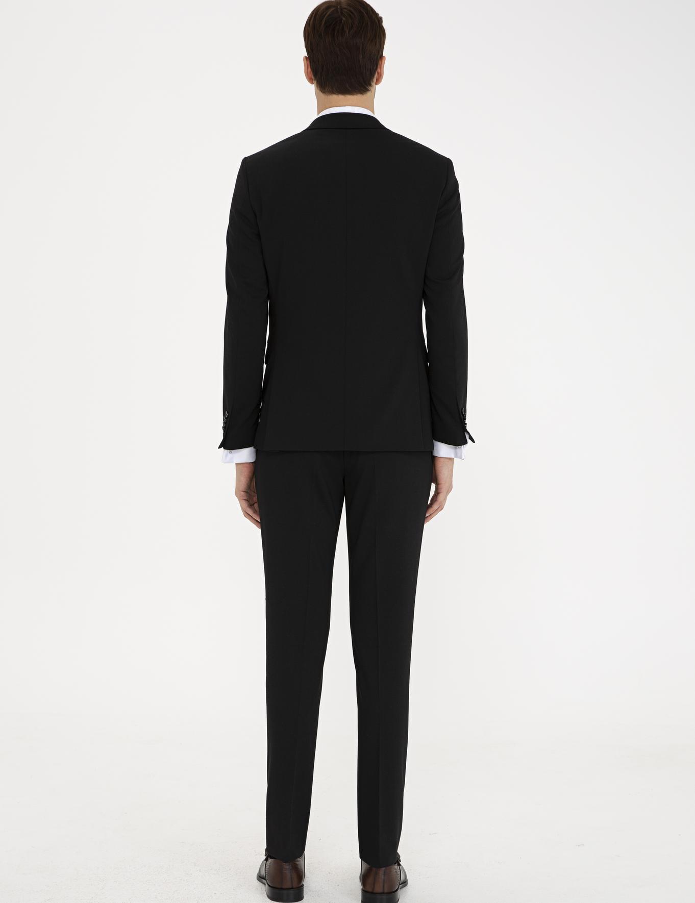 Siyah Ex. Slim Fit Takım Elbise - 50232901050