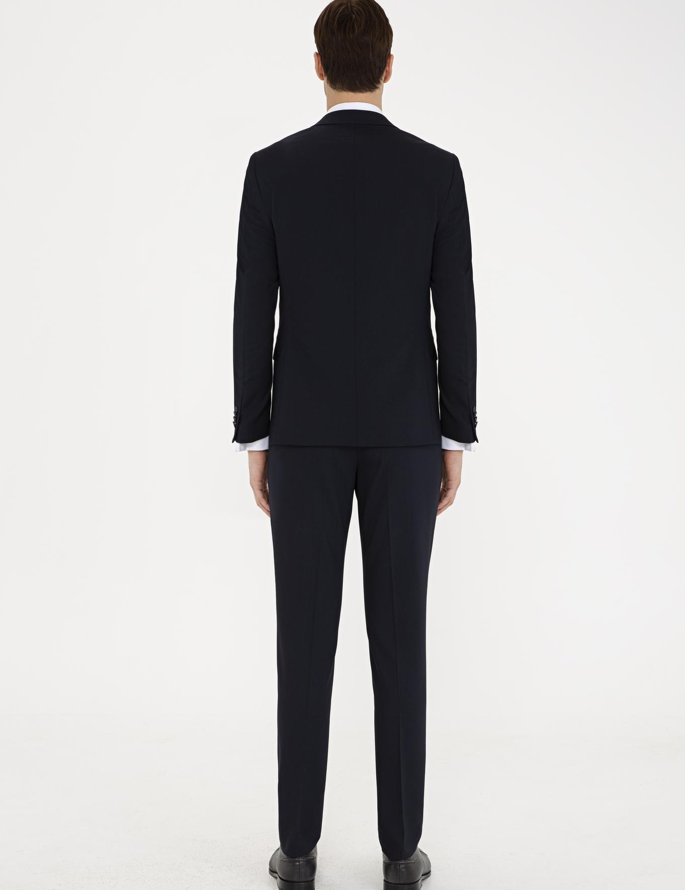 Lacivert Ex. Slim Fit Takım Elbise - 50232901011