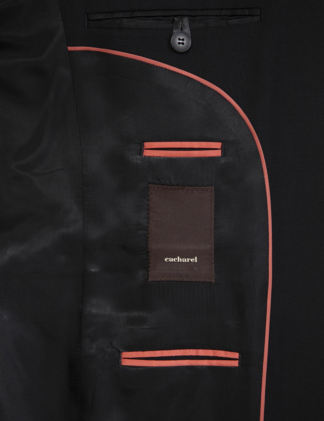 Siyah Slim Fit Ceket - 50235704047