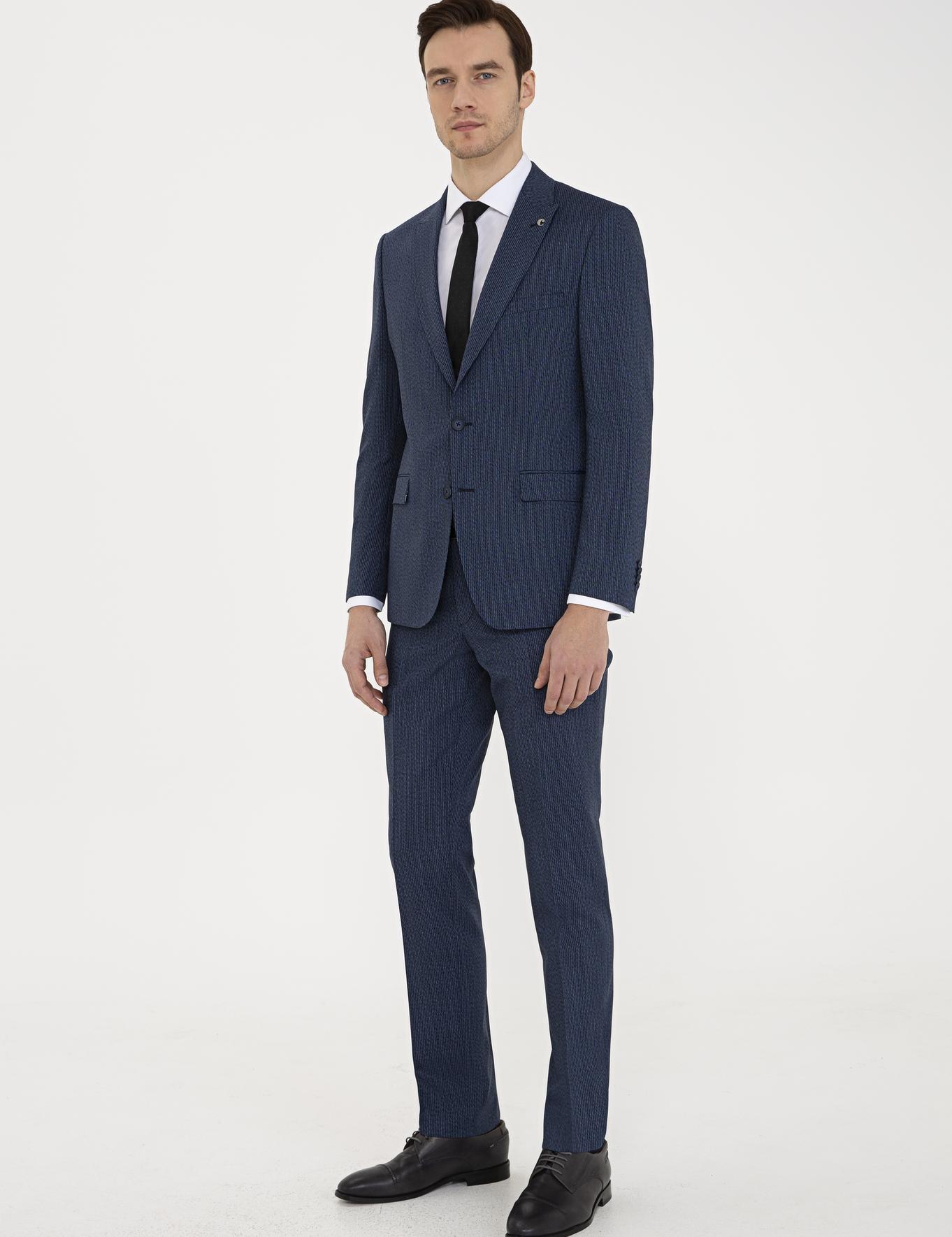 Lacivert Slim Fit Takım Elbise - 50237305017