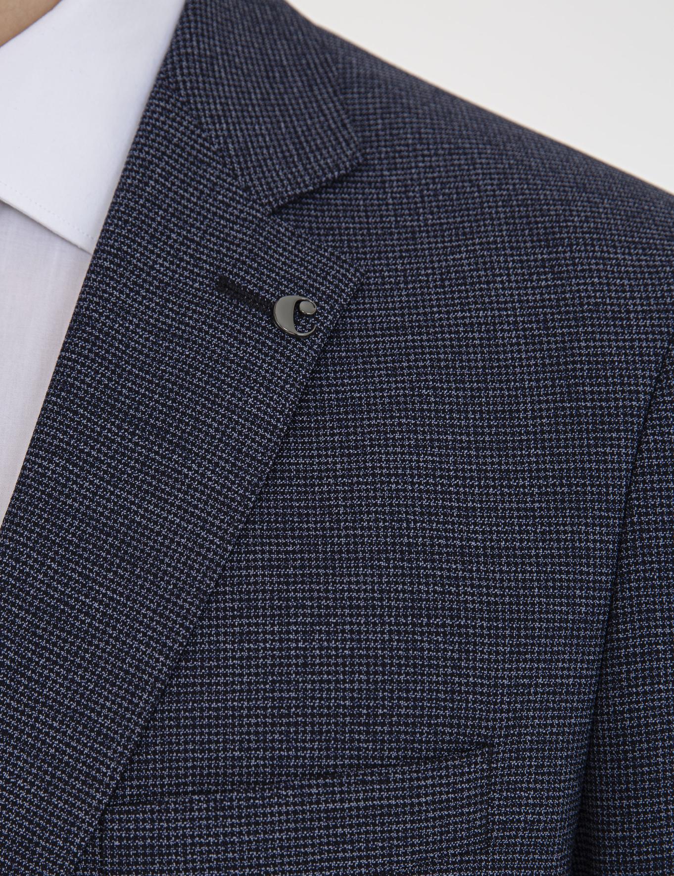 İndigo Slim Fit Takım Elbise - 50232607077