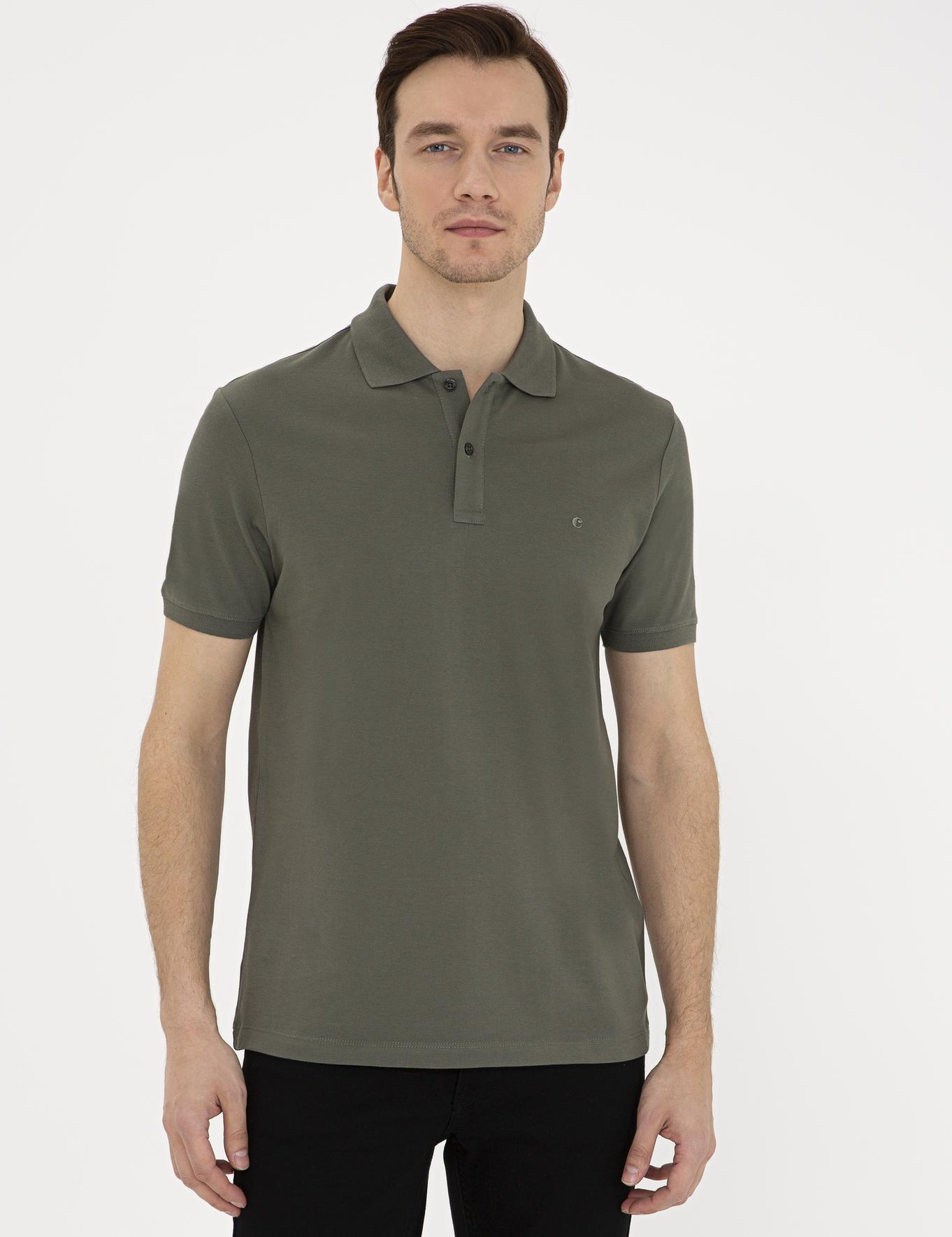 Polo Yaka Basic T-Shirt - 50239479001