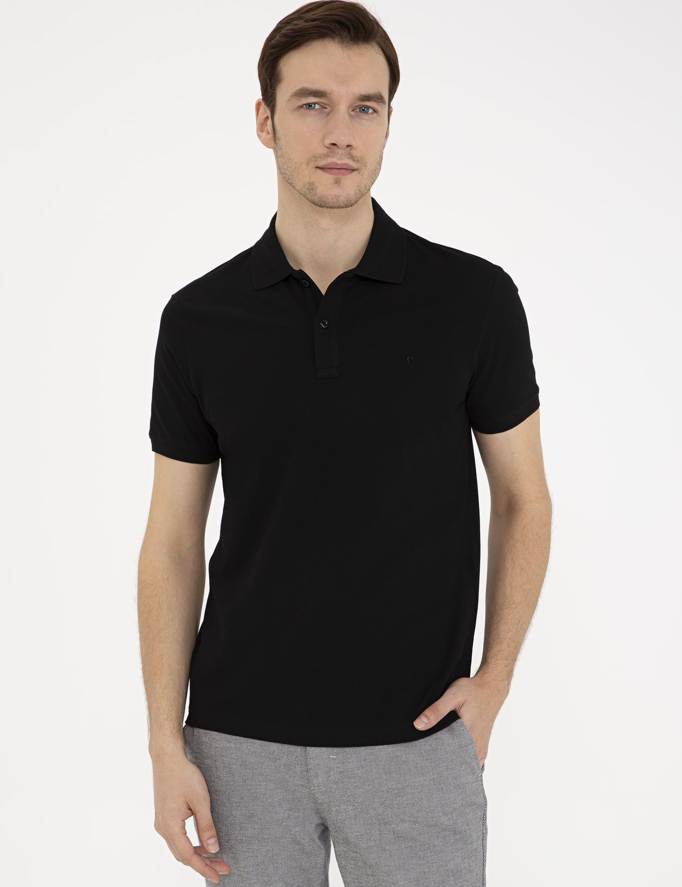 Polo Yaka Basic T-Shirt - 50239479009