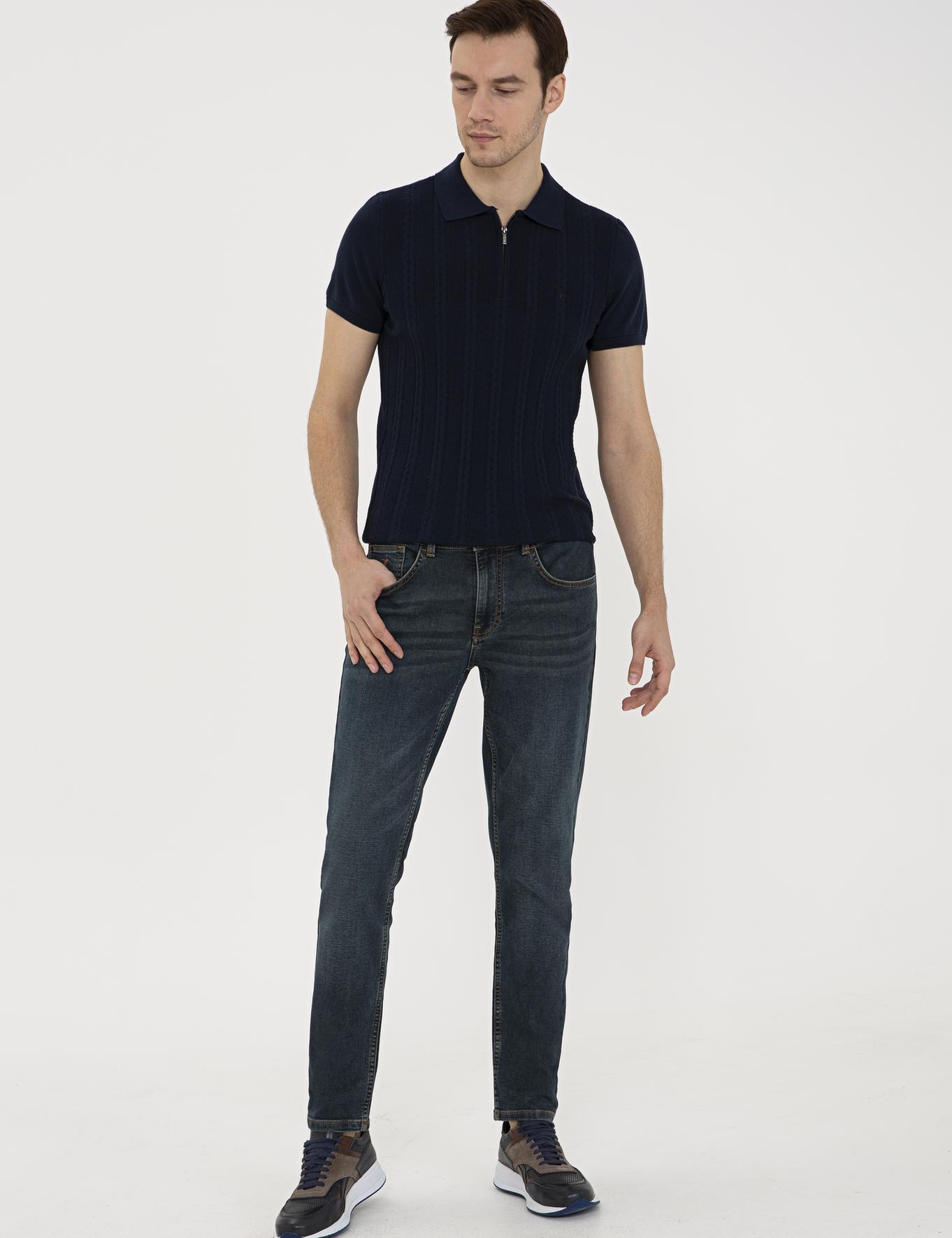 Koyu Mavi Slim Fit Denim - 50232828021