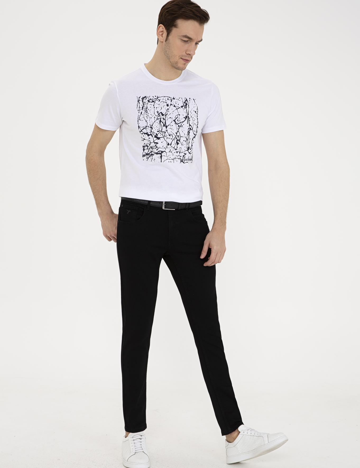 Siyah Slim Fit Denim - 50232816029