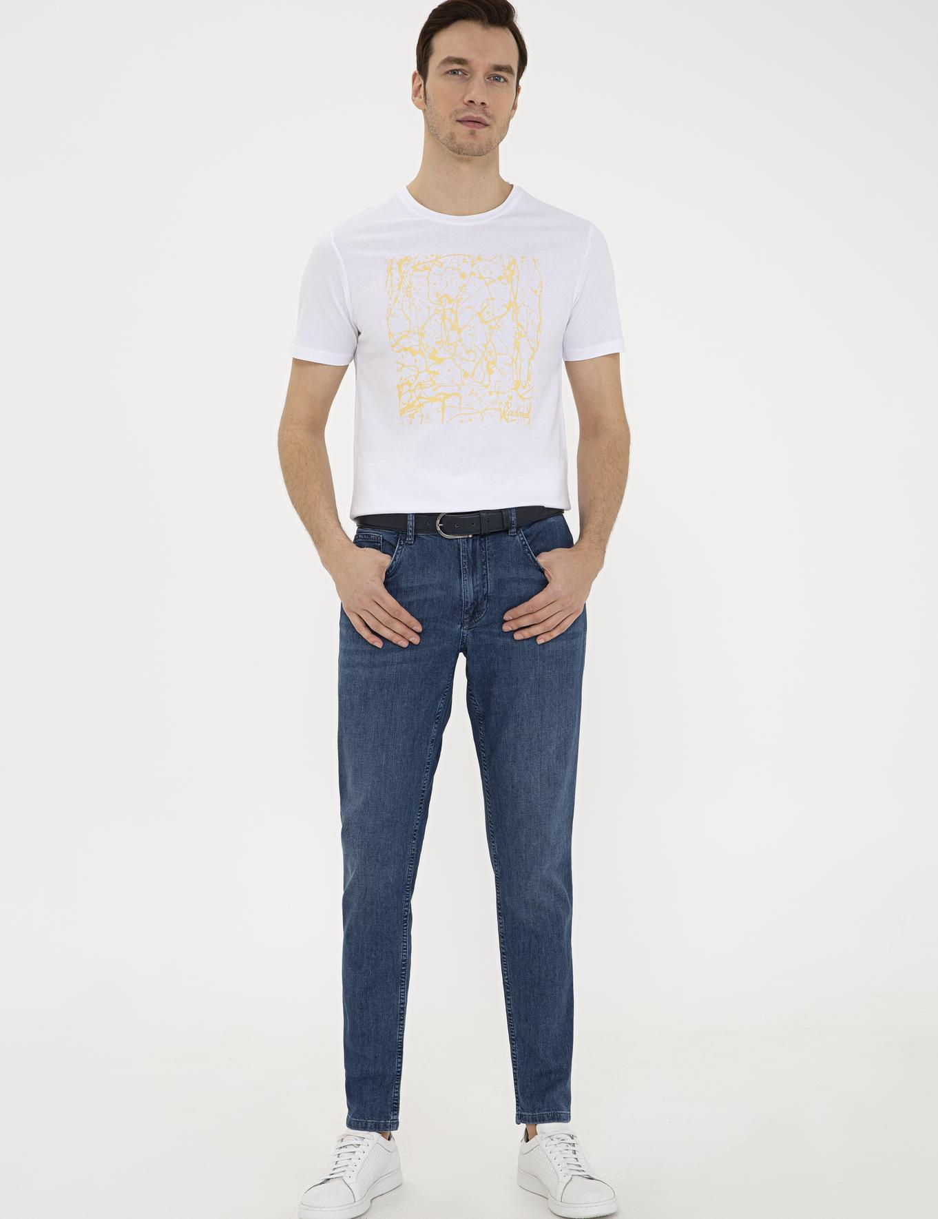 Bisiklet Yaka T-Shirt - 50232922030