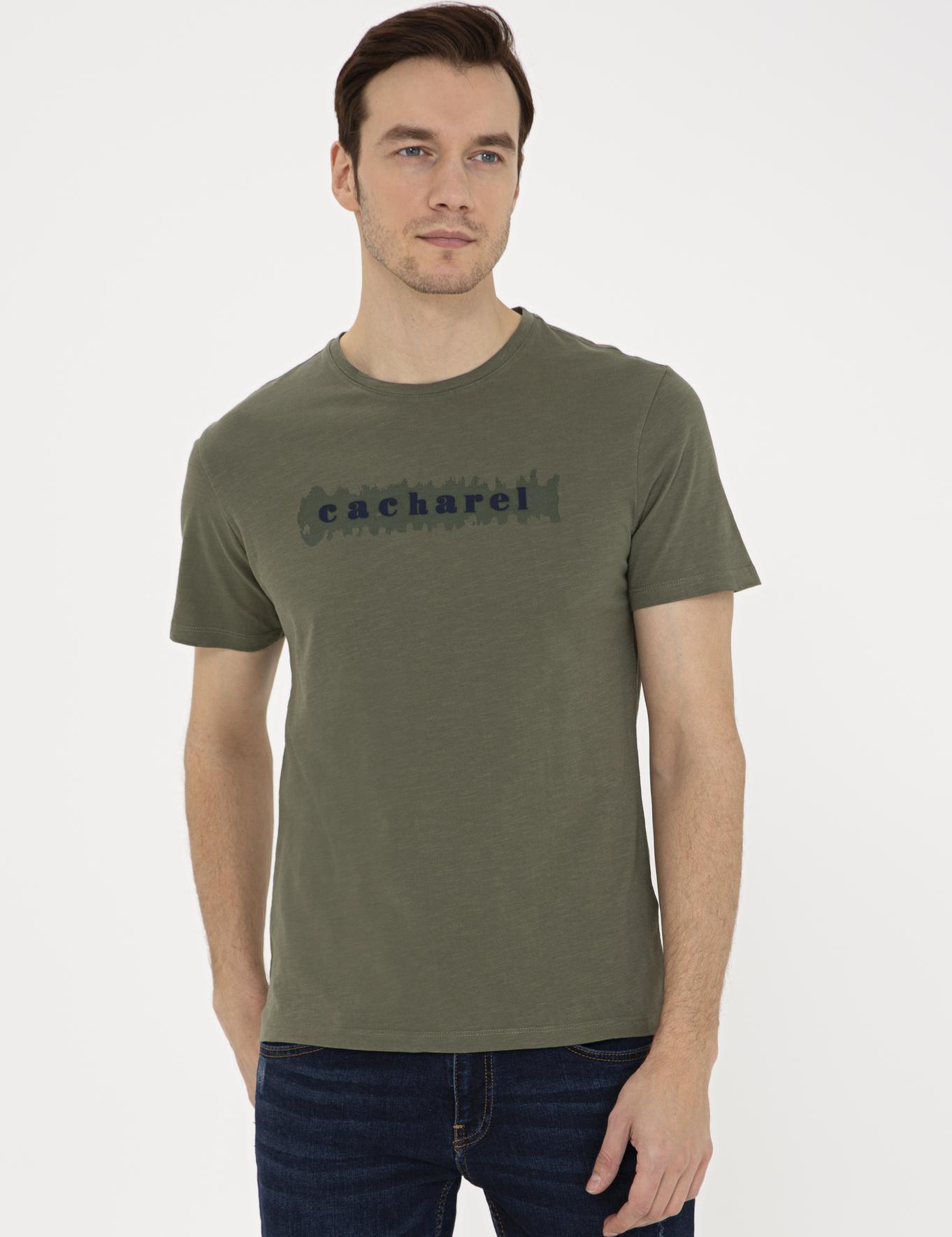 Bisiklet Yaka T-Shirt - 50235691028