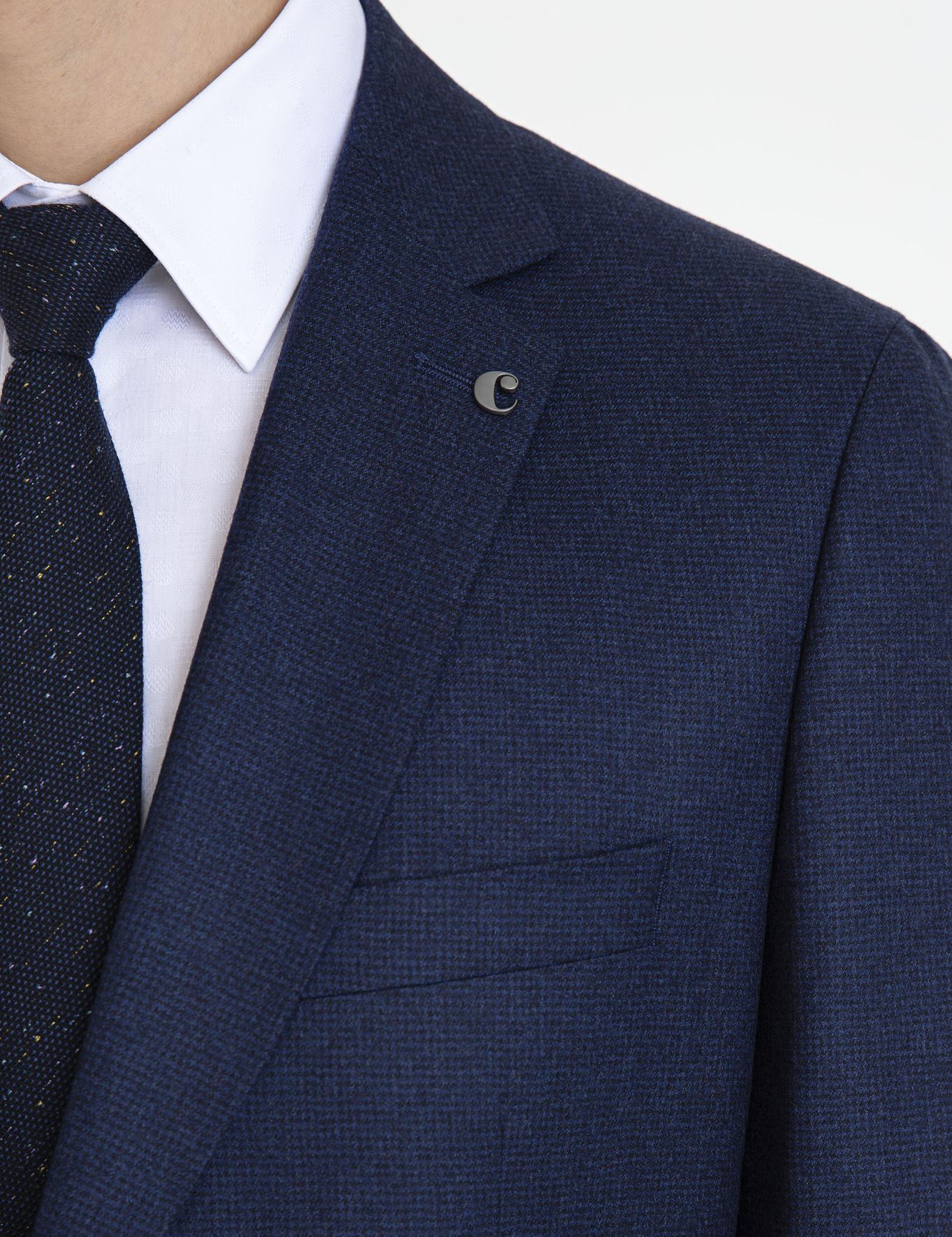 Lacivert Slim Fit Takım Elbise - 50227151107