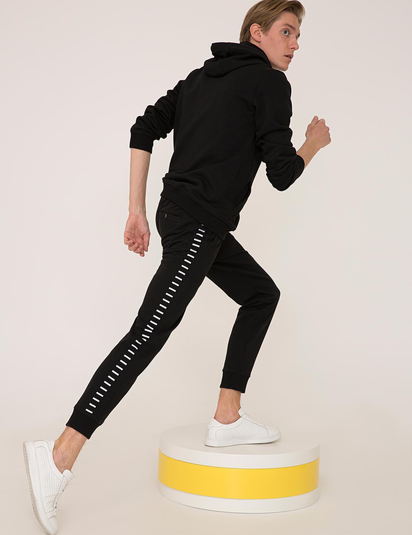 Siyah Örme Pantolon - 50236095006
