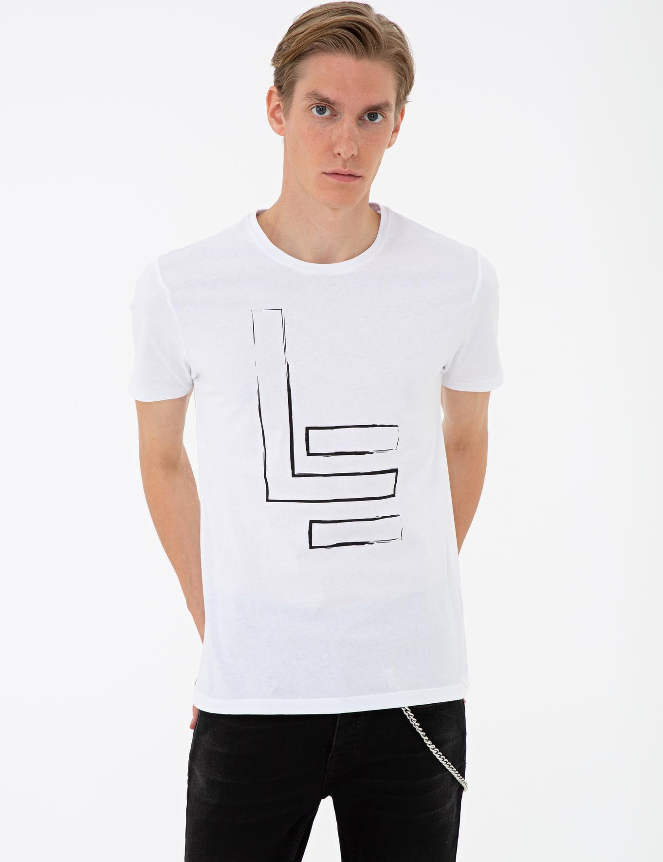 Bisiklet Yaka T-Shirt - 50234612016