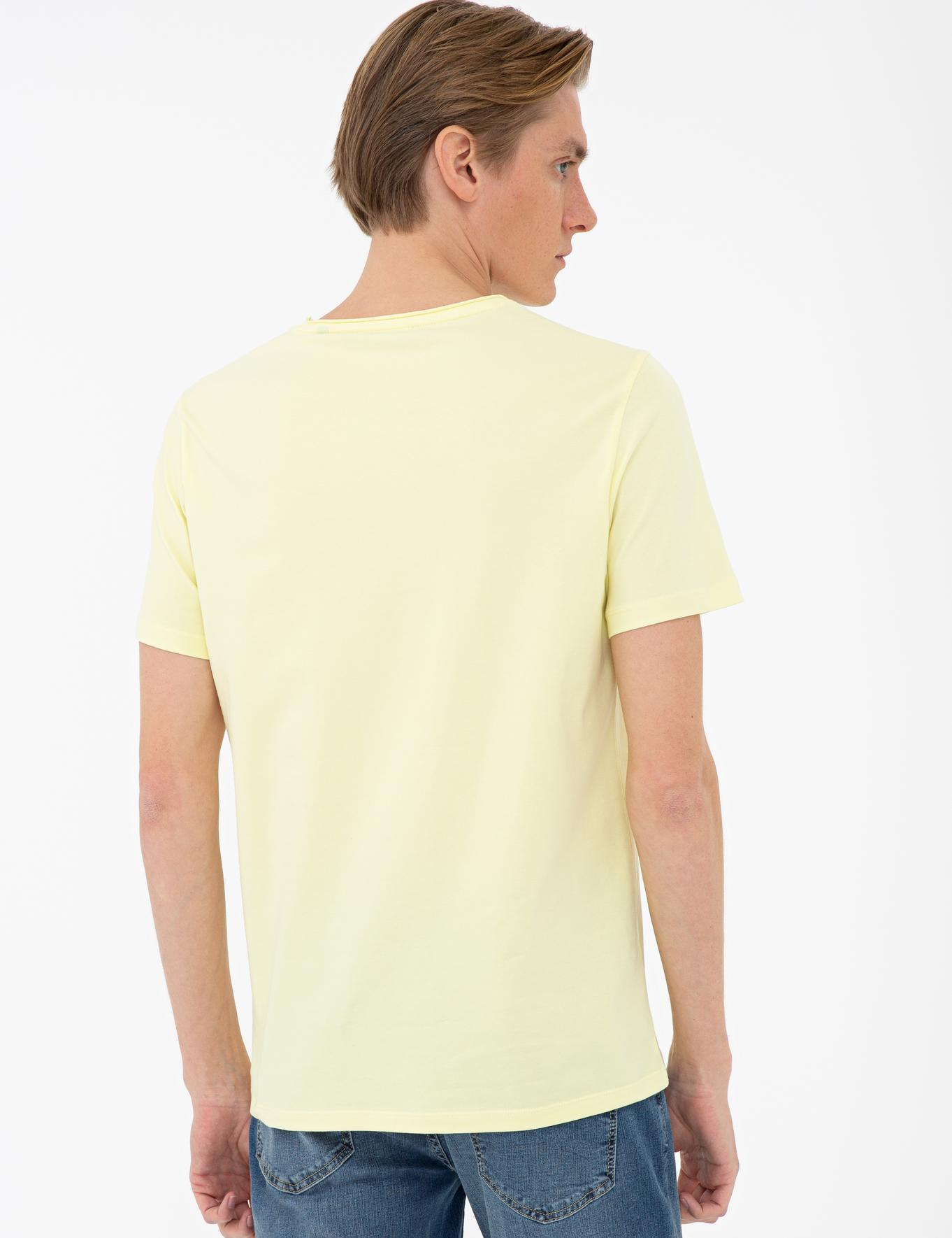 Bisiklet Yaka T-Shirt - 50235702113