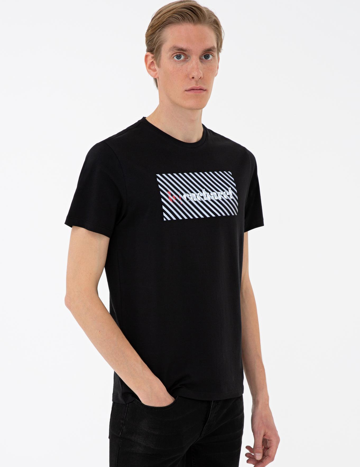 Bisiklet Yaka T-Shirt - 50235760017