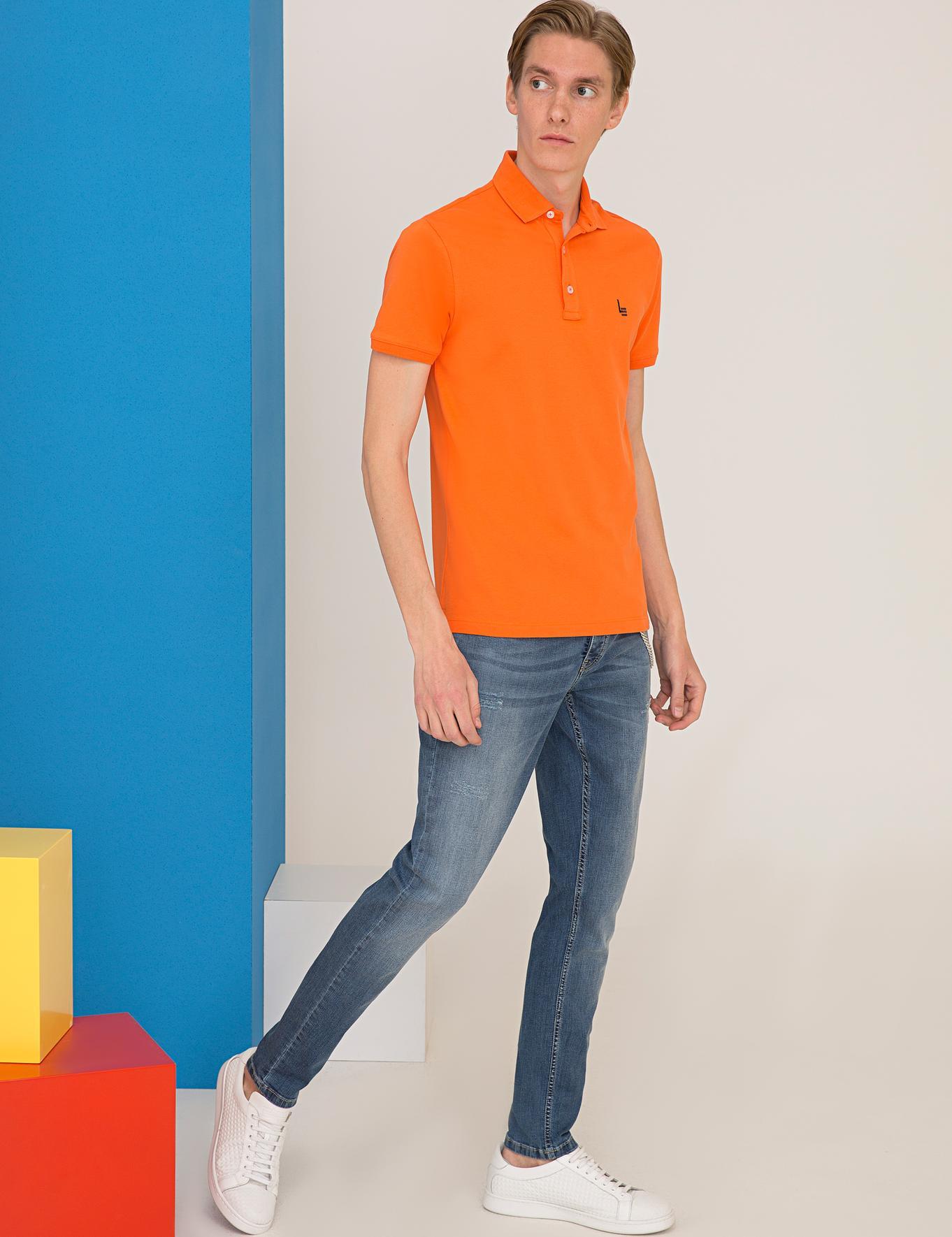Polo Yaka Basic T-Shirt - 50232915123