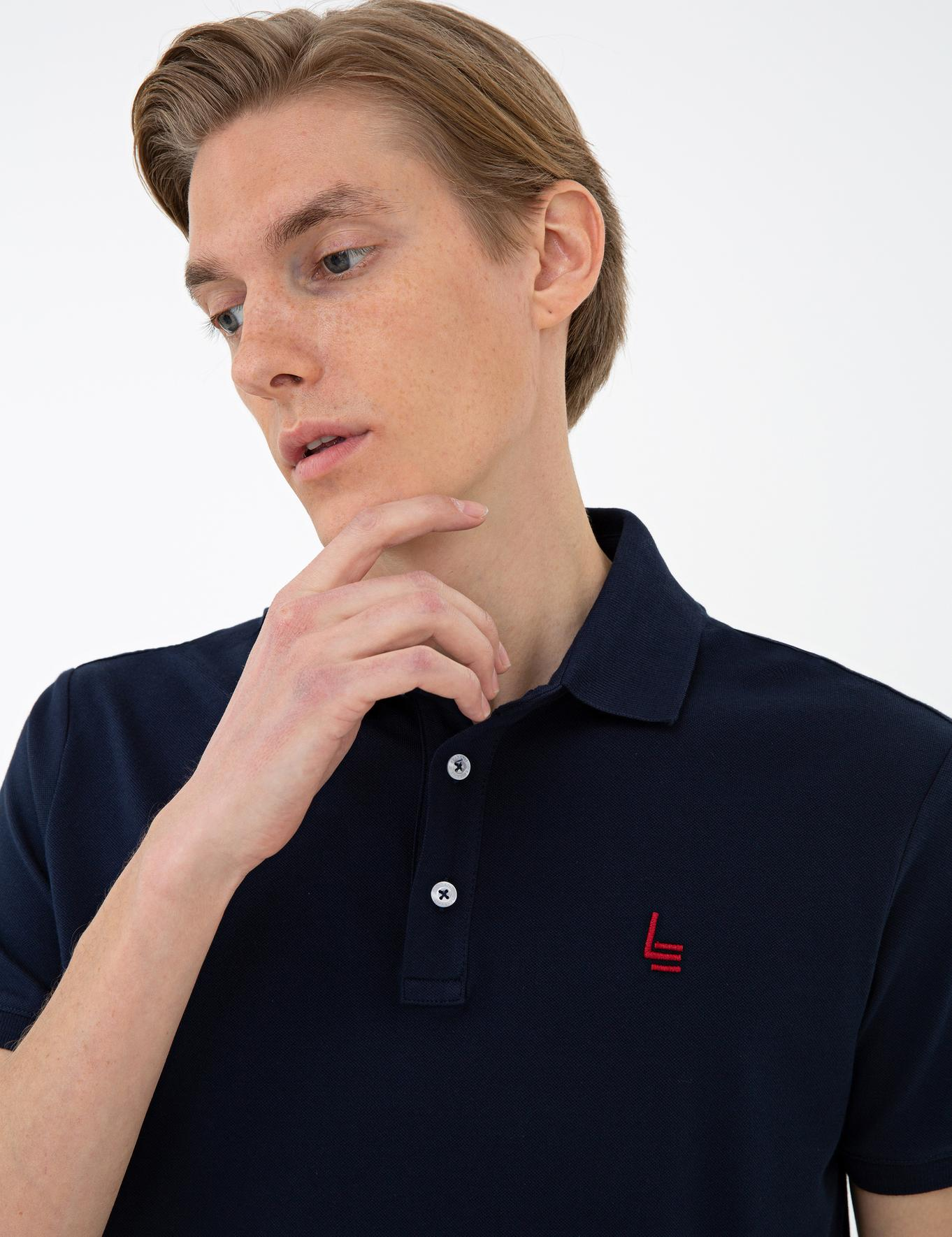 Polo Yaka Basic T-Shirt - 50232915090