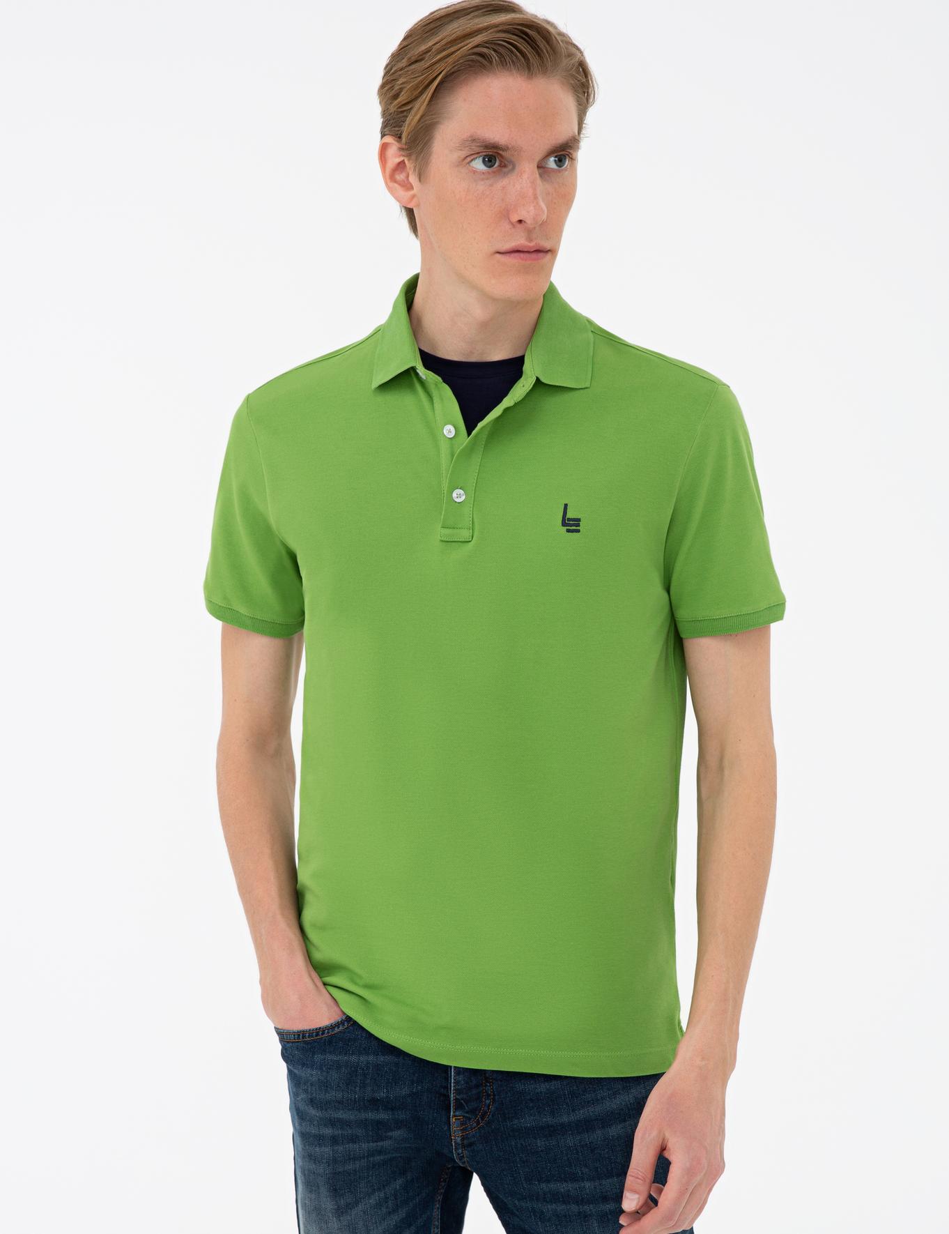 Polo Yaka Basic T-Shirt - 50232915165