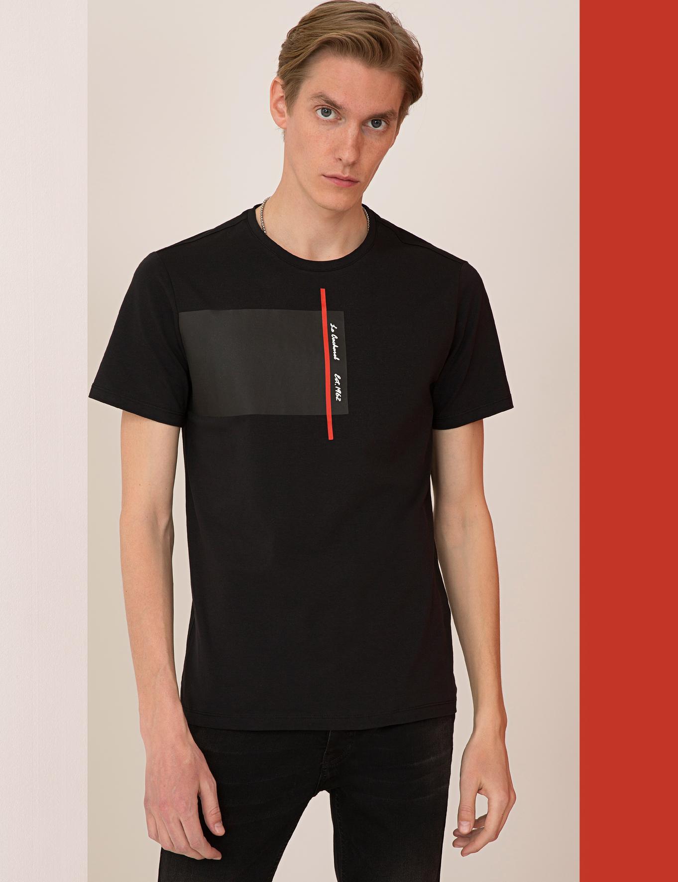 Bisiklet Yaka T-Shirt - 50235788026