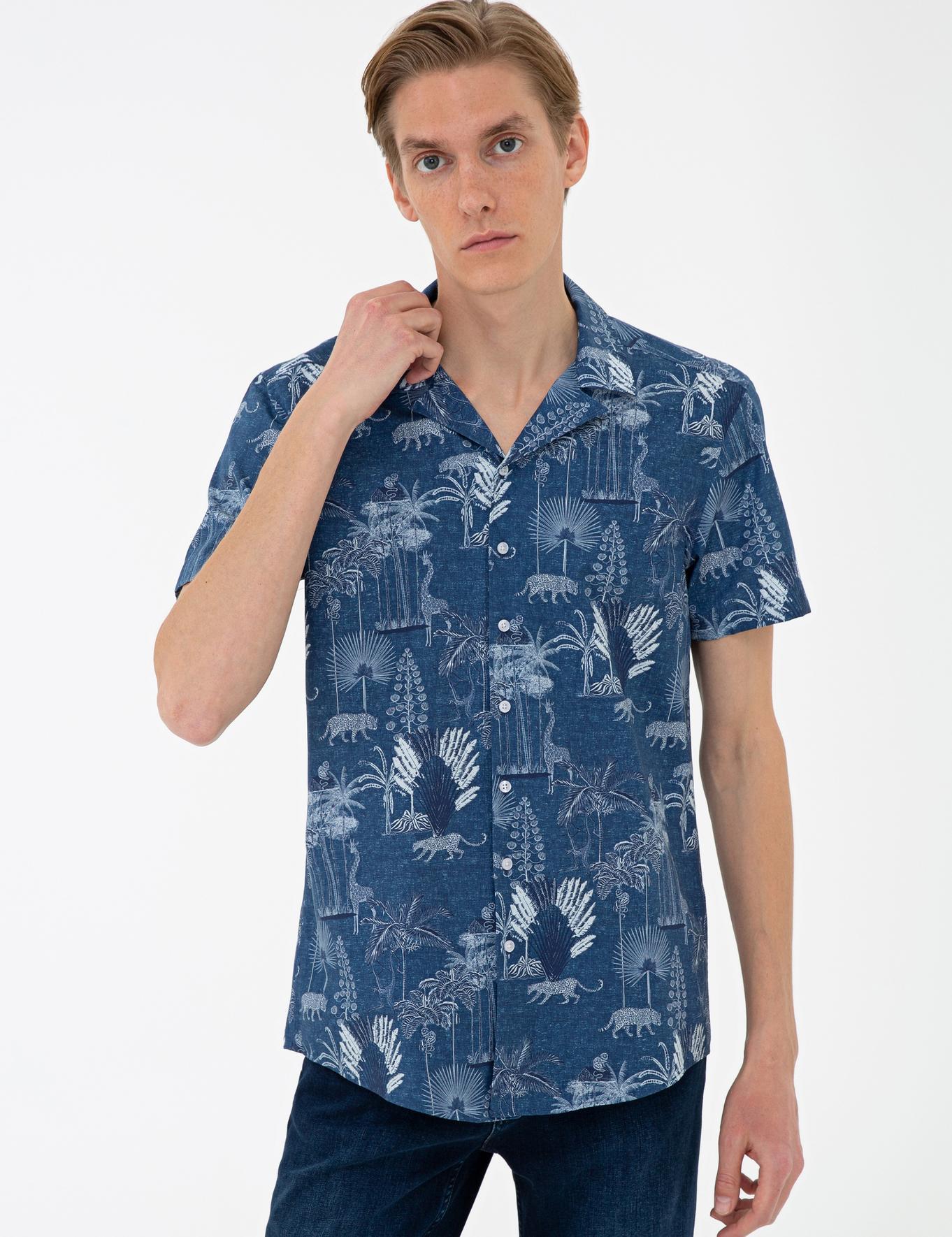 İndigo Slim Fit Gömlek - 50233306010