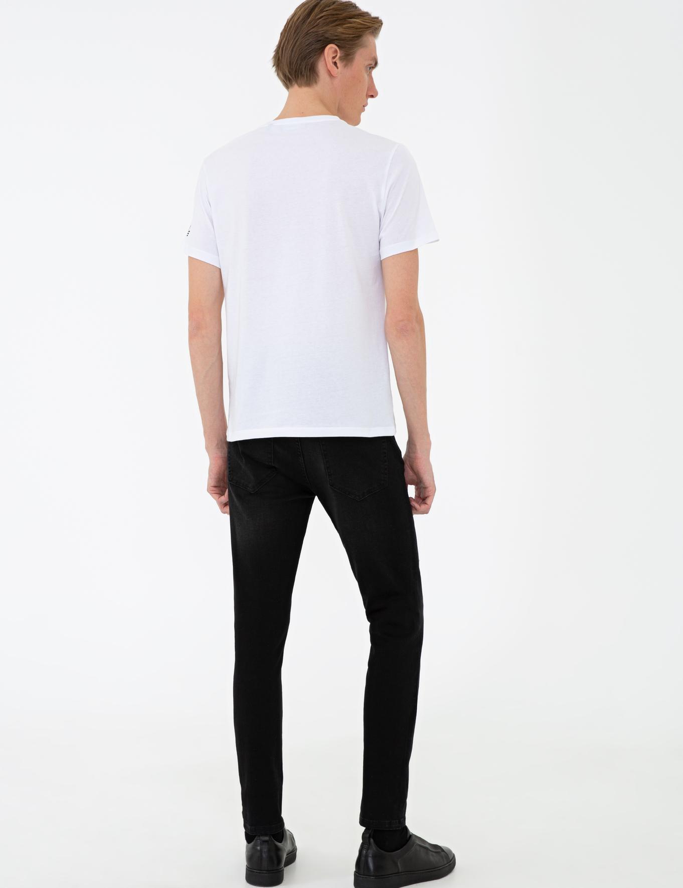 Siyah Slim Fit Denim - 50235810033