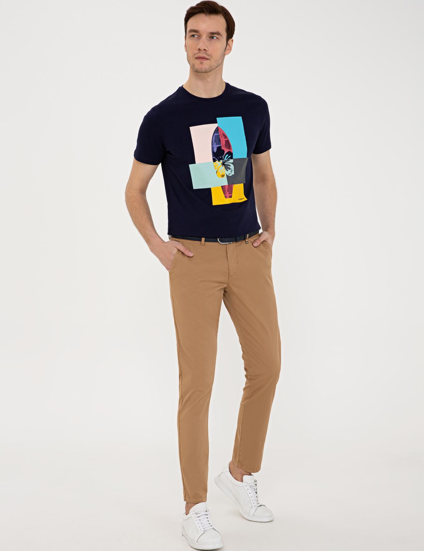 Camel Slim Fit Chino - 50232838124