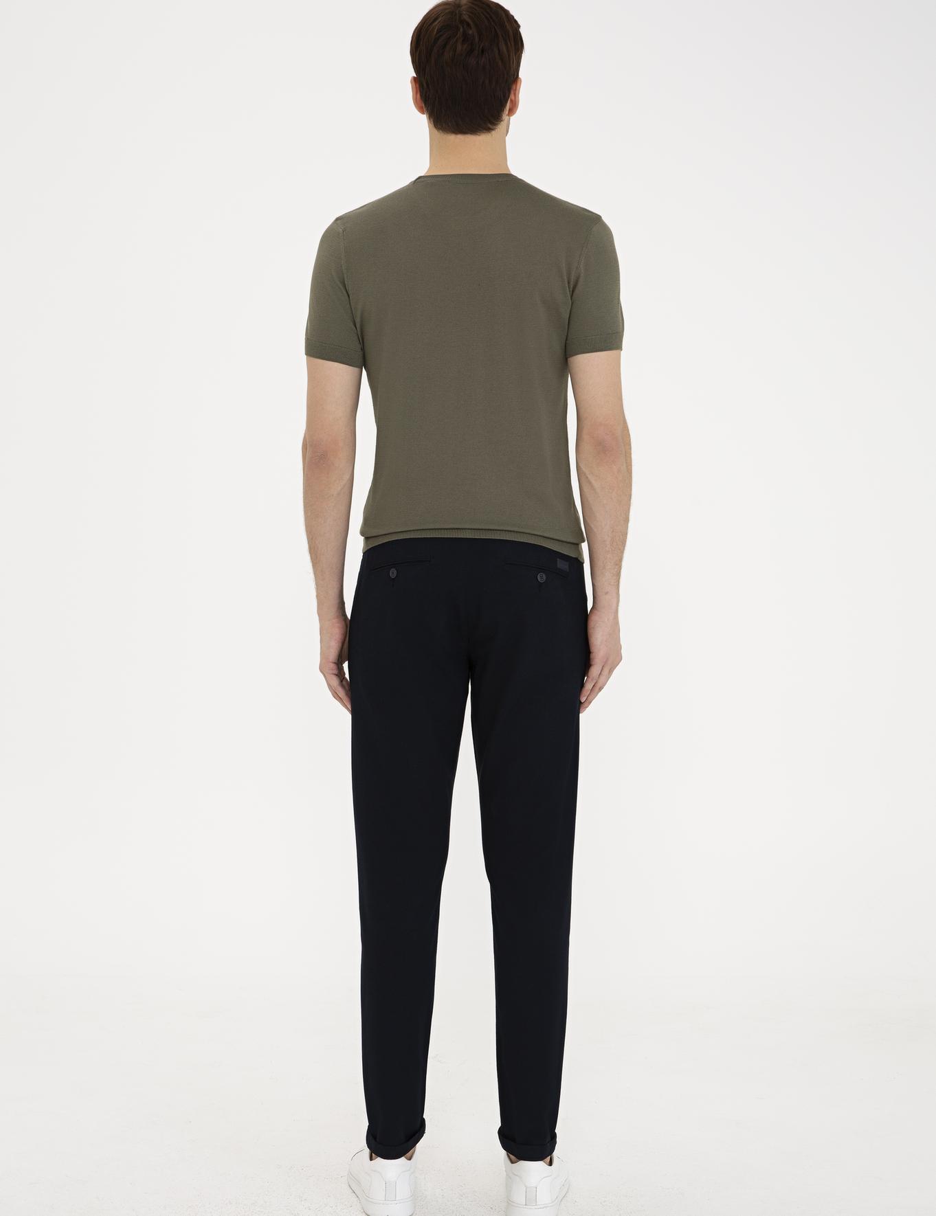 Lacivert Slim Fit Chino - 50232945043