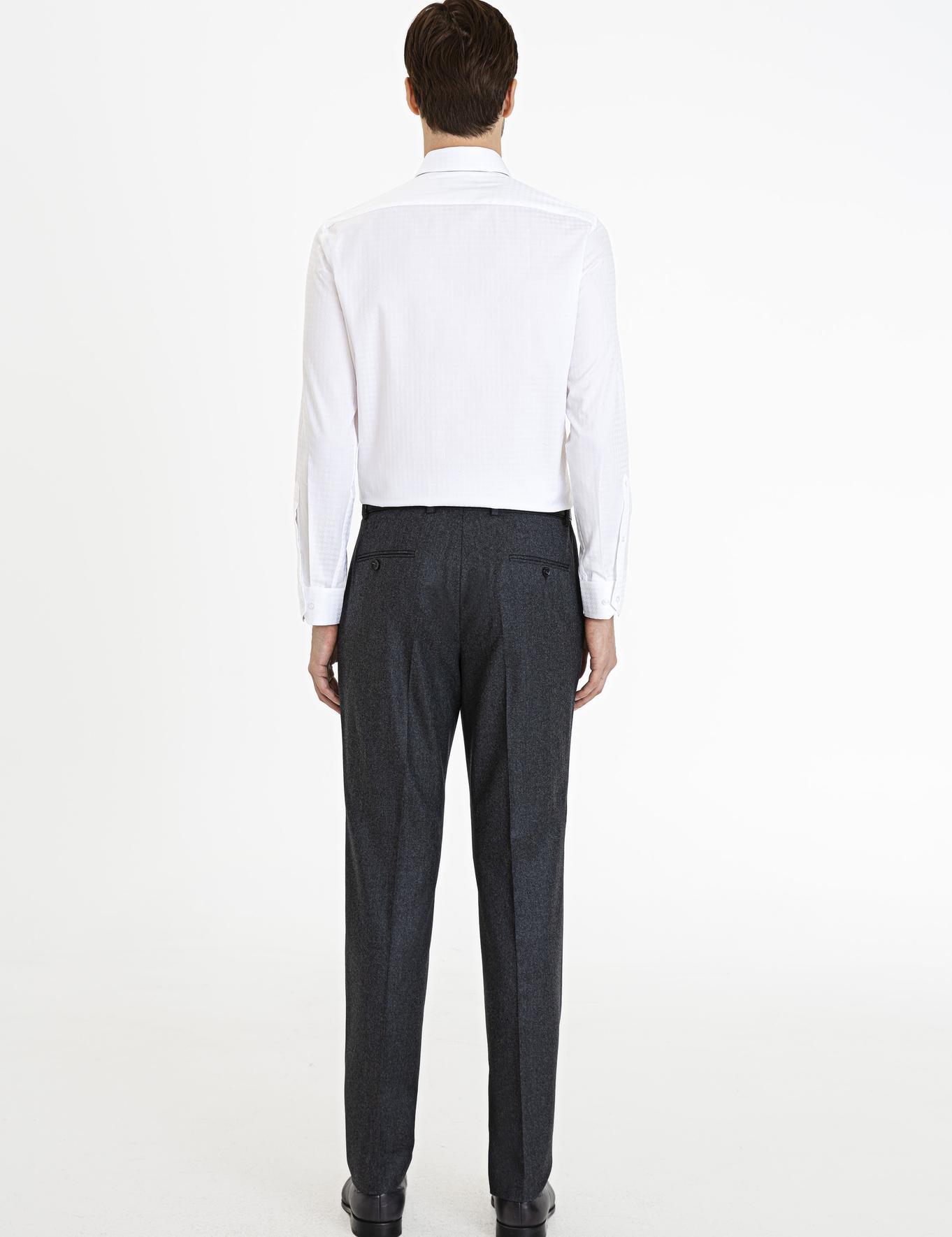 Antrasit Slim Fit Pantolon - 50227798013