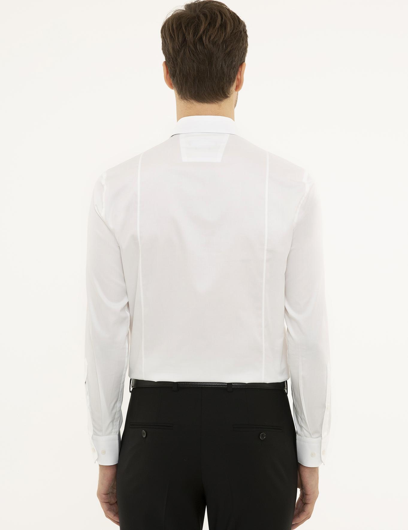 Beyaz Slim Fit Gömlek - 50230473007