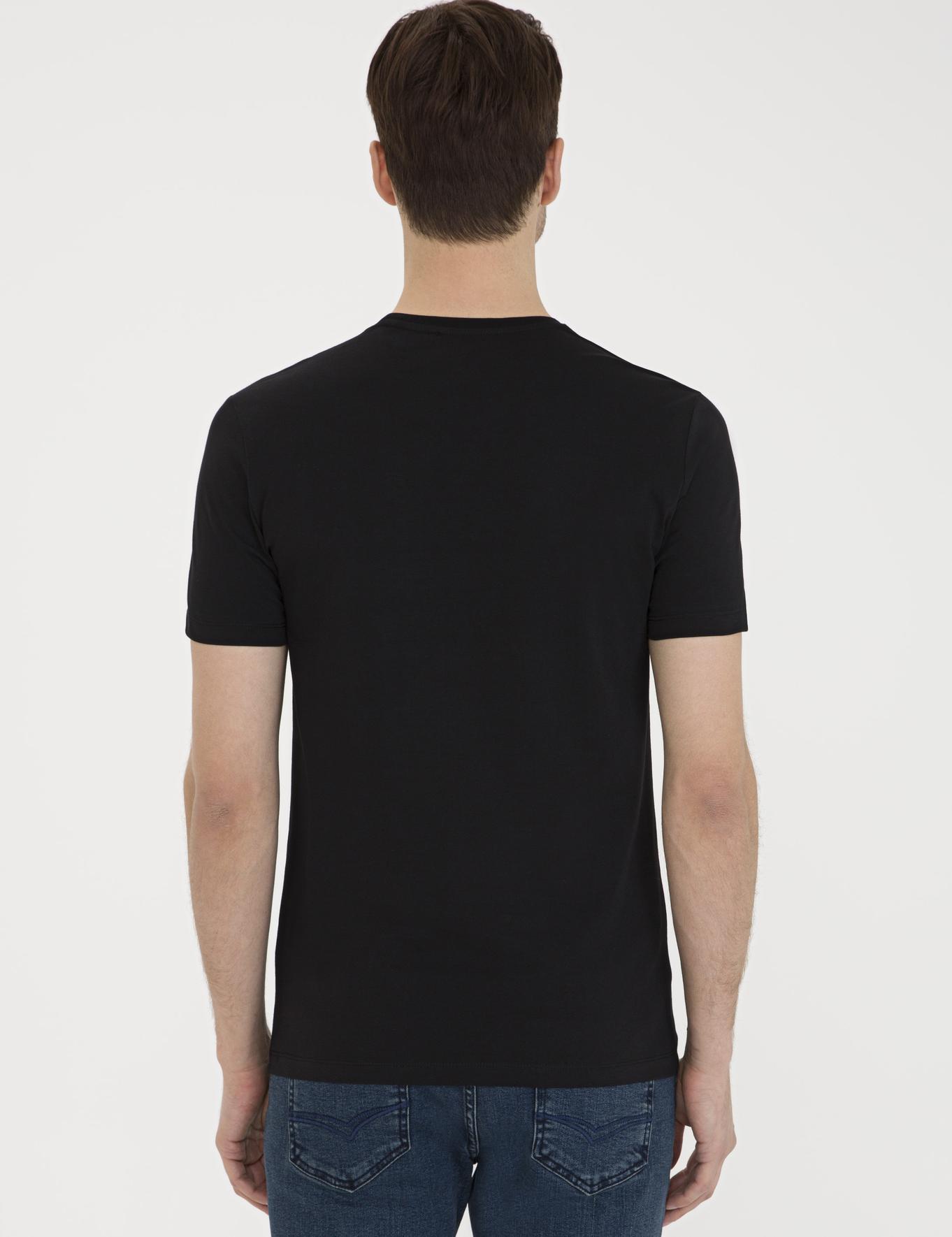Bisiklet Yaka Basic T-Shirt - 50239168001