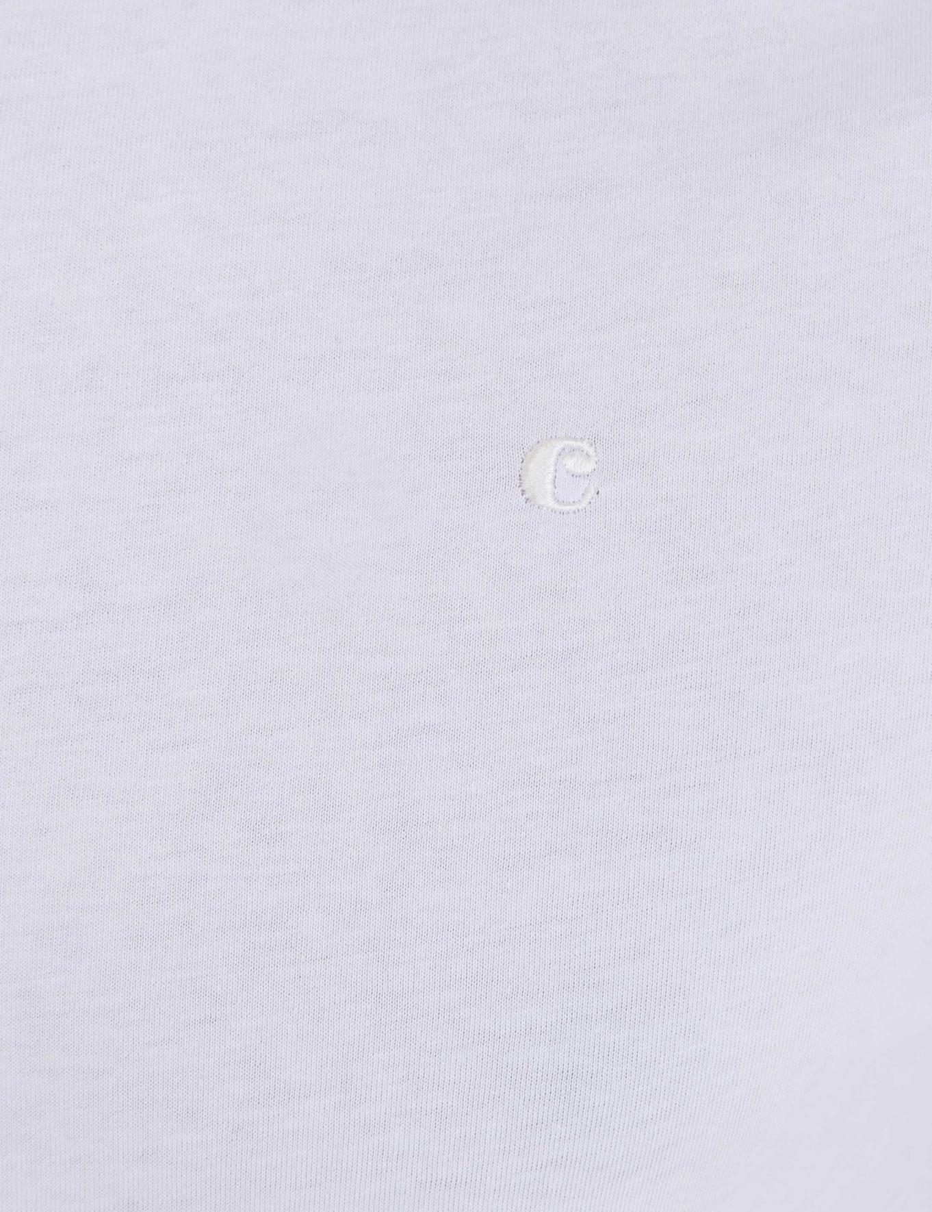 Bisiklet Yaka Basic T-Shirt - 50239168017