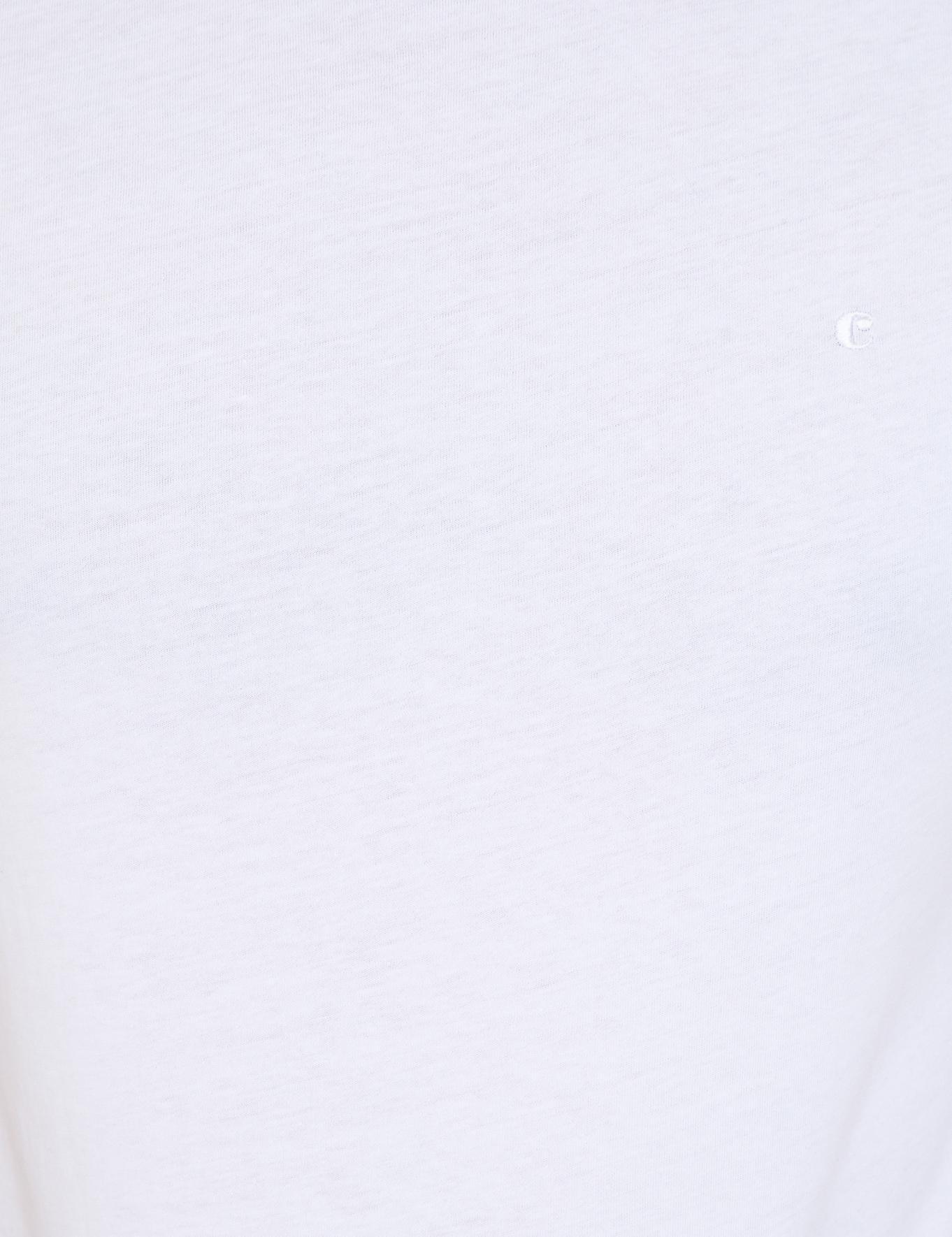 Bisiklet Yaka Basic T-Shirt - 50239832007