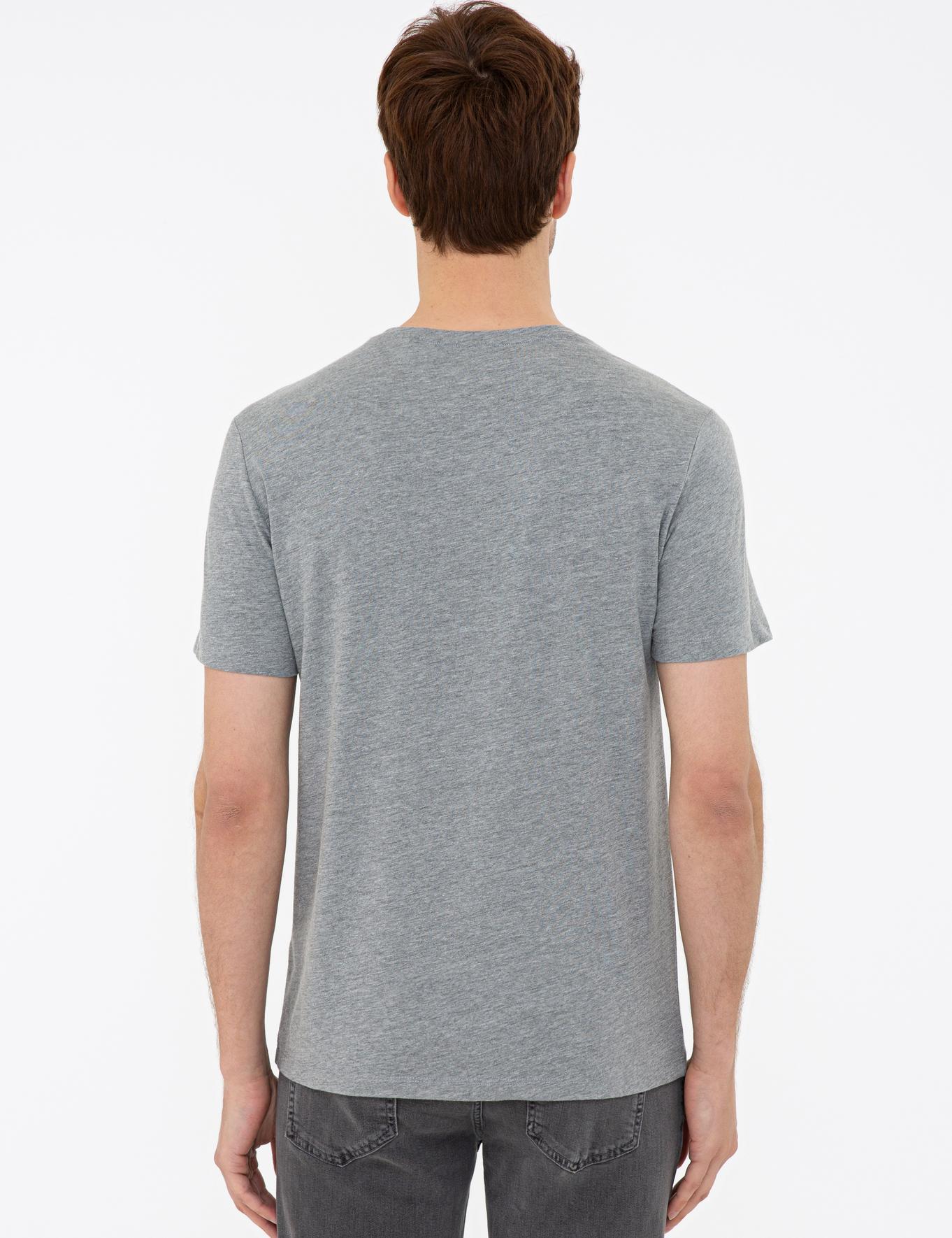 Bisiklet Yaka Basic T-Shirt - 50239832048