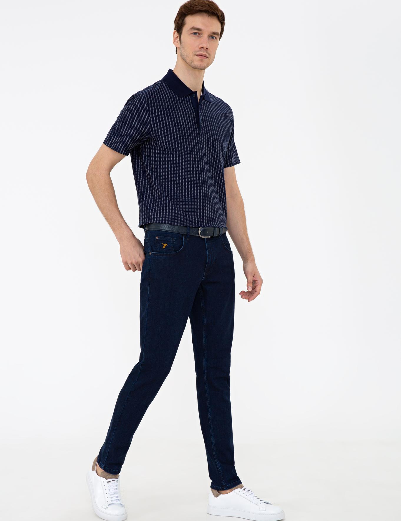 Koyu Mavi Slim Fit Denim - 50240010027