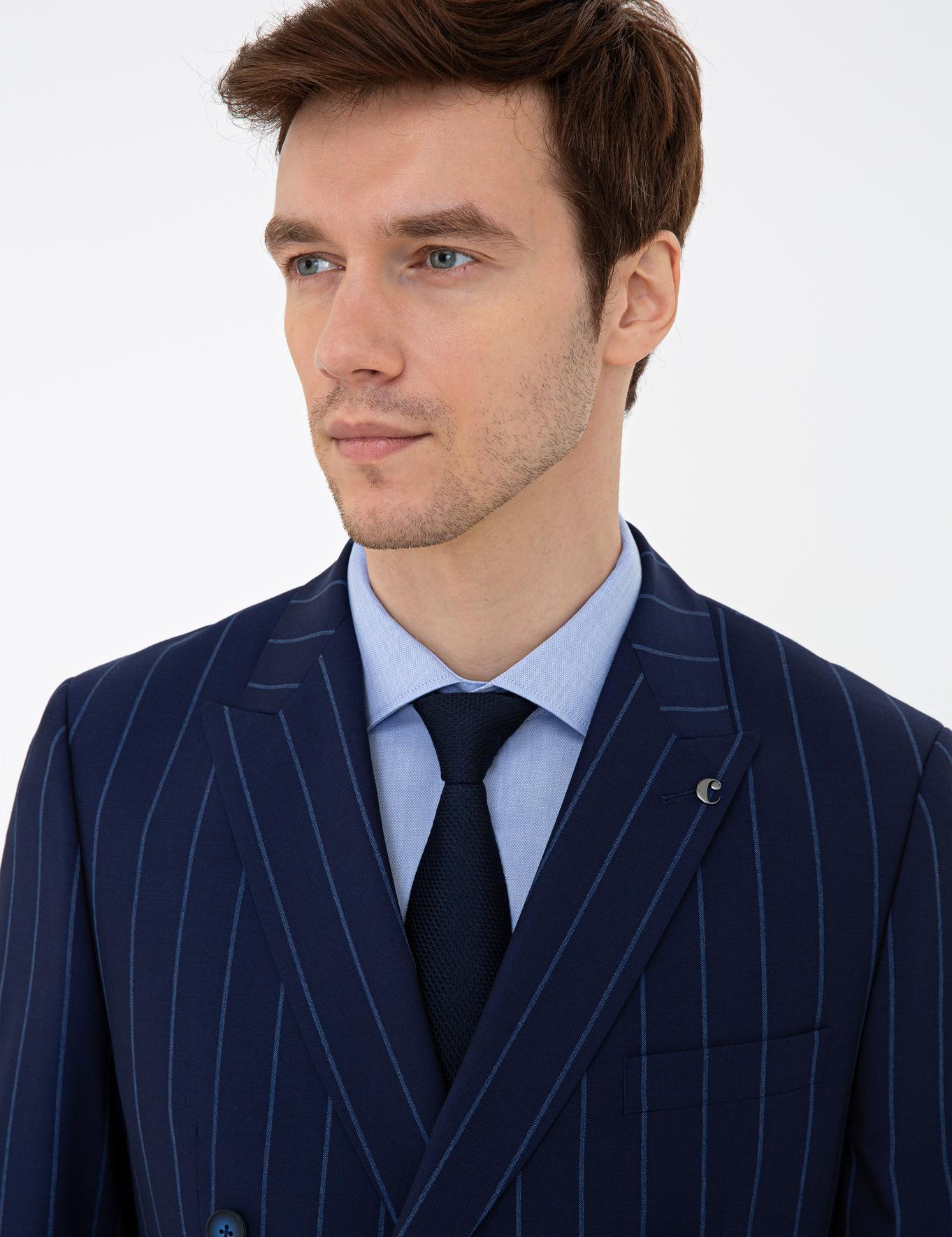 Lacivert Slim Fit Takım Elbise - 50232892014