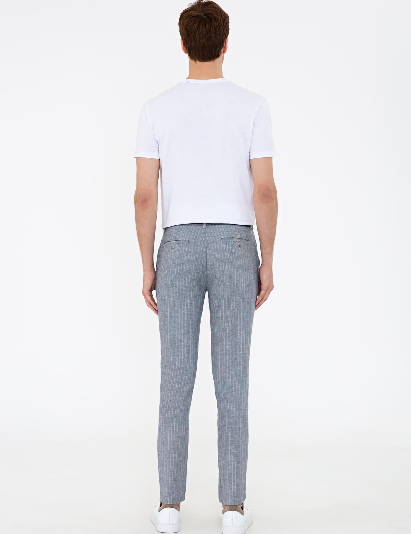 Lacivert Slim Fit Chino - 50233041058