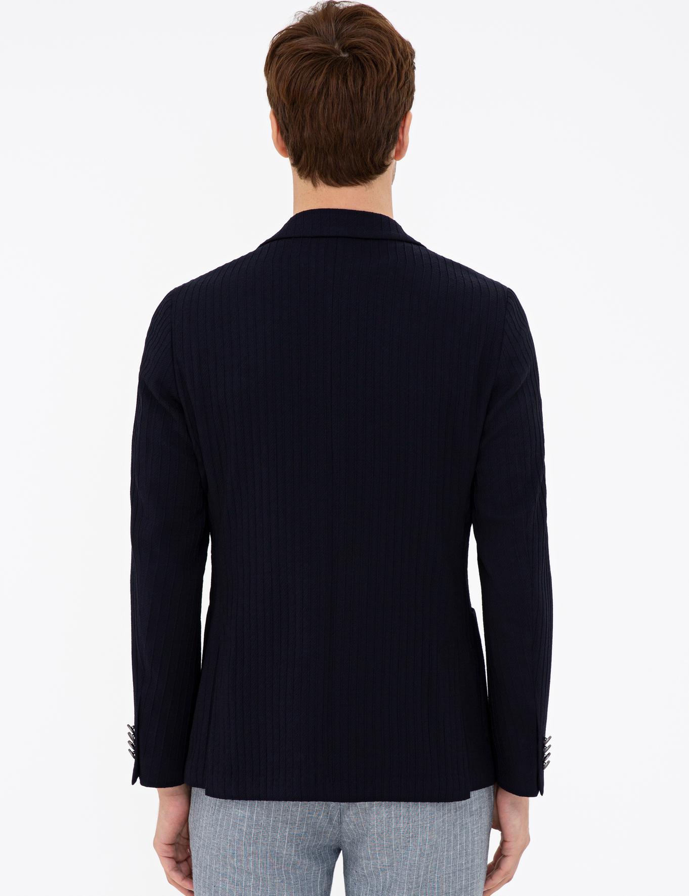 Lacivert Ex.Slim Fit Ceket - 50232602017