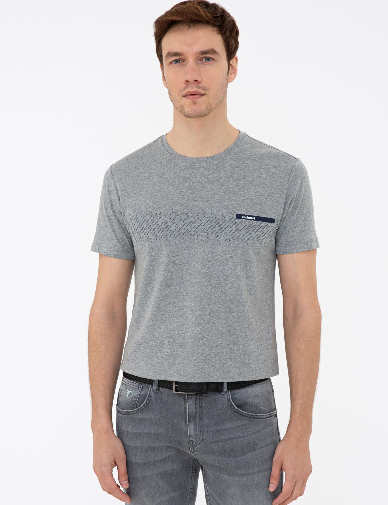 Bisiklet Yaka T-Shirt - 50235692019