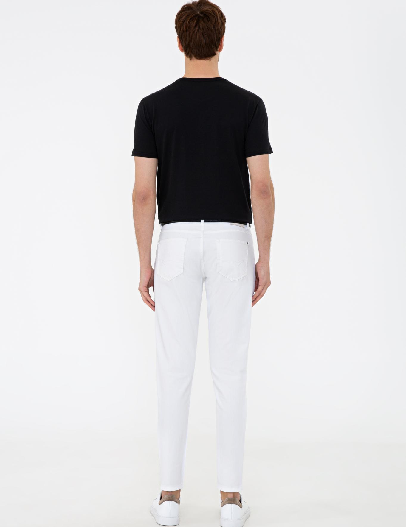 Beyaz Slim Fit Denim - 50232815057