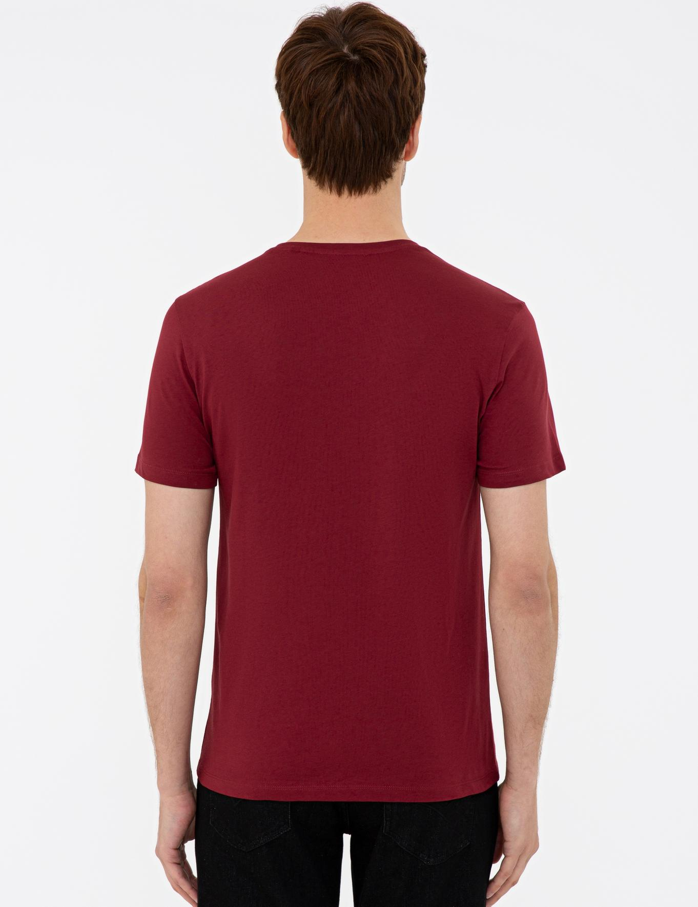 Bisiklet Yaka Basic T-Shirt - 50239832011