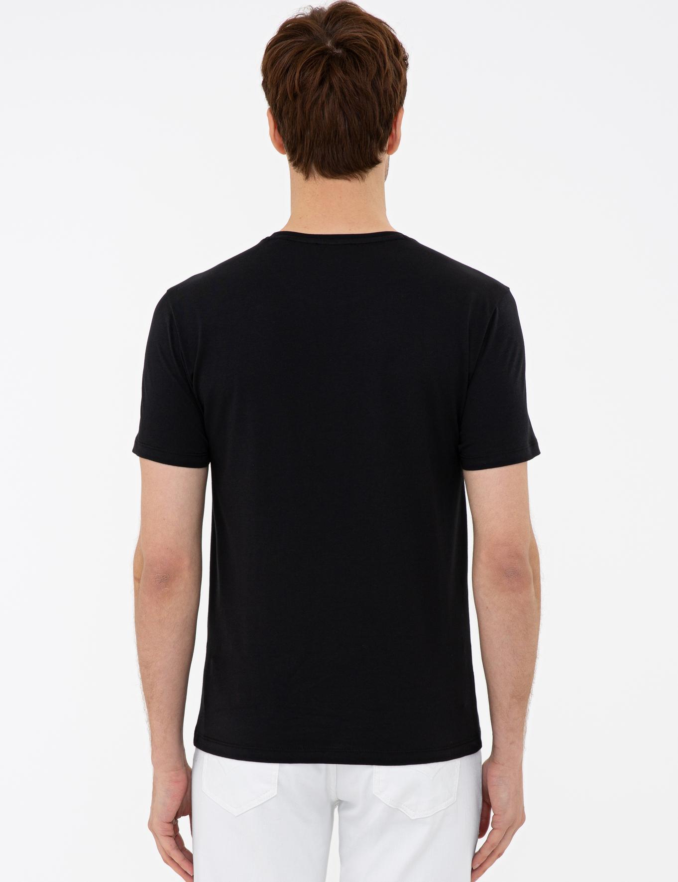 Bisiklet Yaka T-Shirt - 50232919014