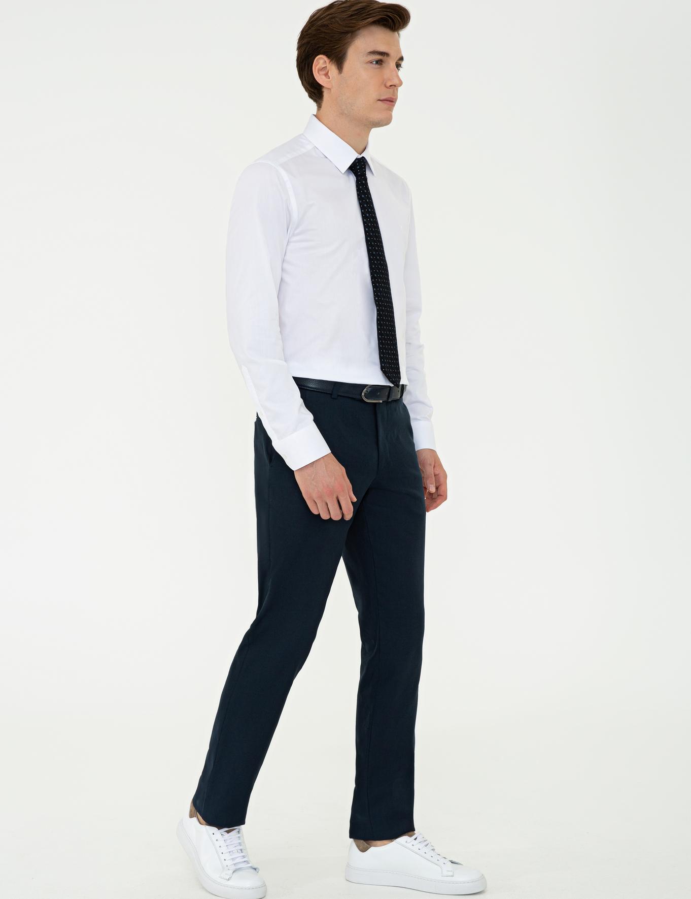 Lacivert Slim Fit Pantolon - 50235806027