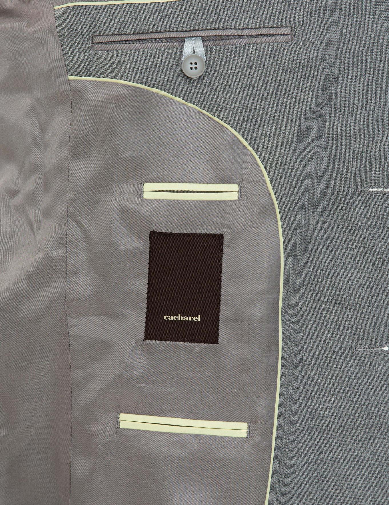 Gri Slim Fit Ceket - 50235704017