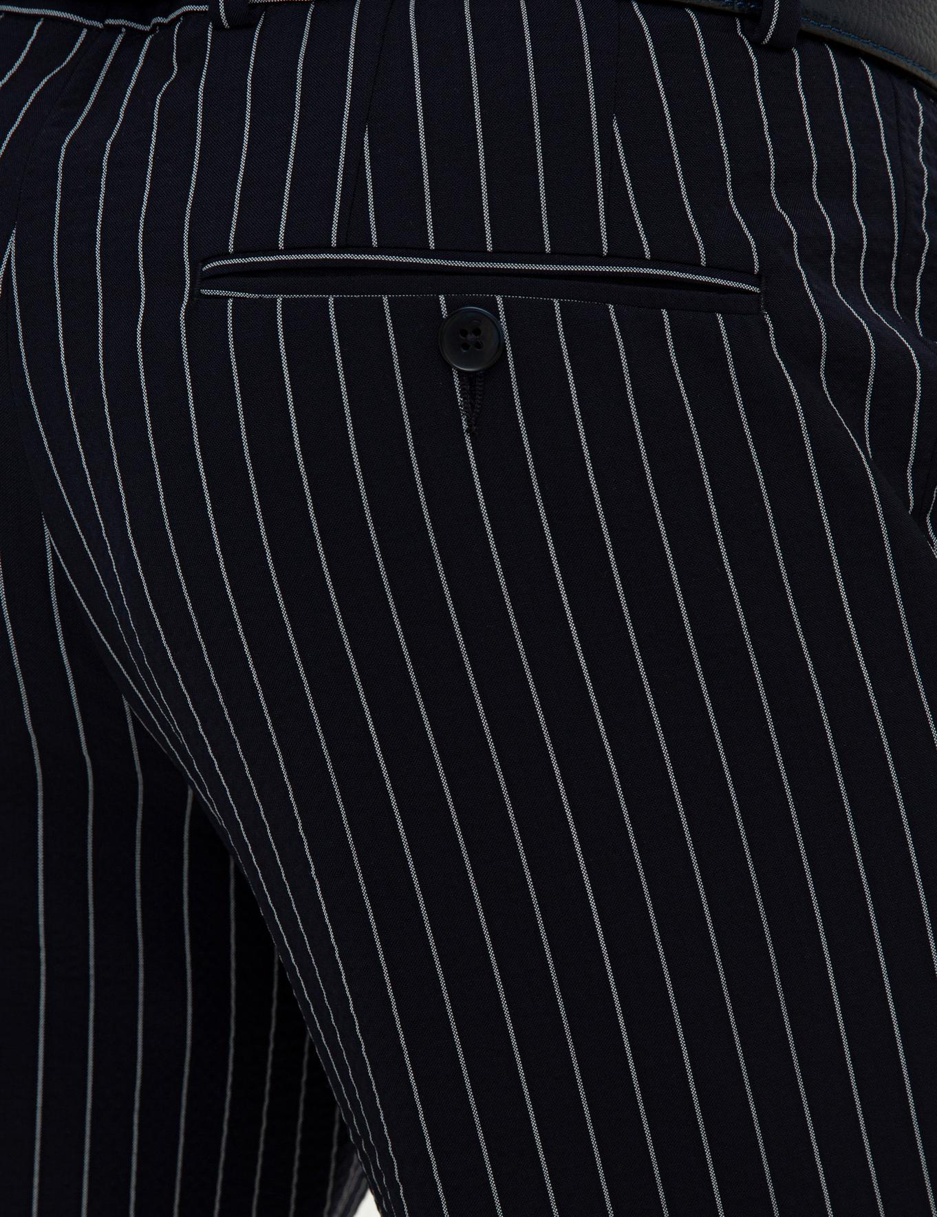 Lacivert Slim Fit Pantolon - 50233404005