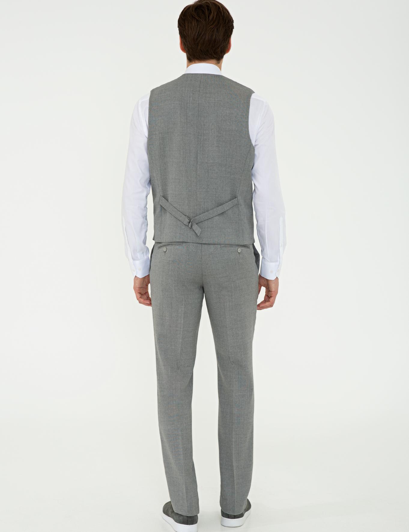 Gri Slim Fit Pantolon - 50235732005